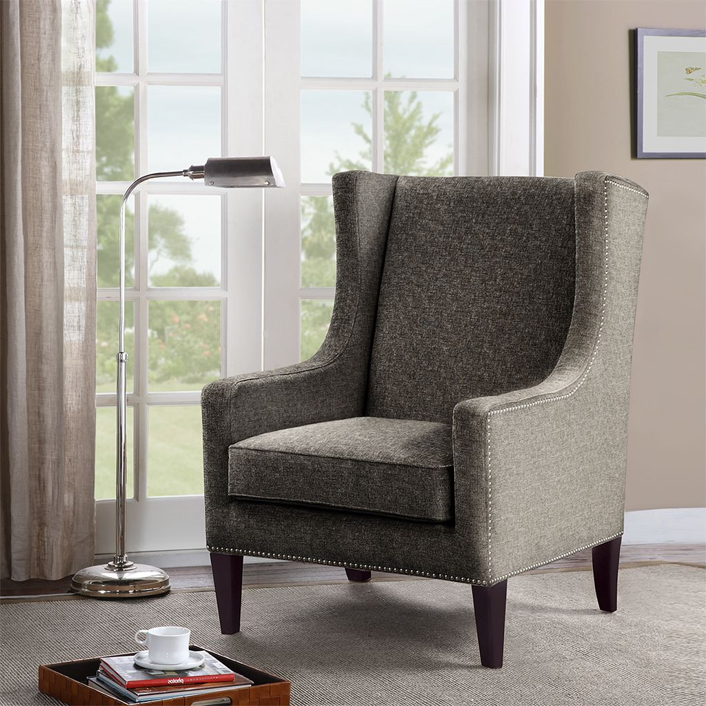 Preferred Madison Park Barton Wing Chair (View 6 of 20)