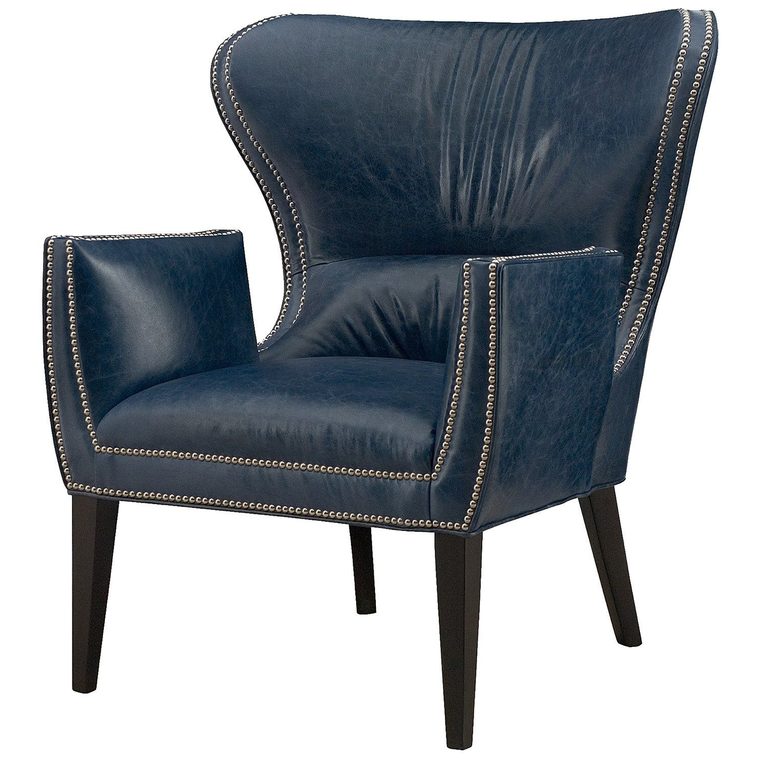 Preferred Nestor Wingback Chairs Within Gustav Leather Chair #zincdoor (View 15 of 20)