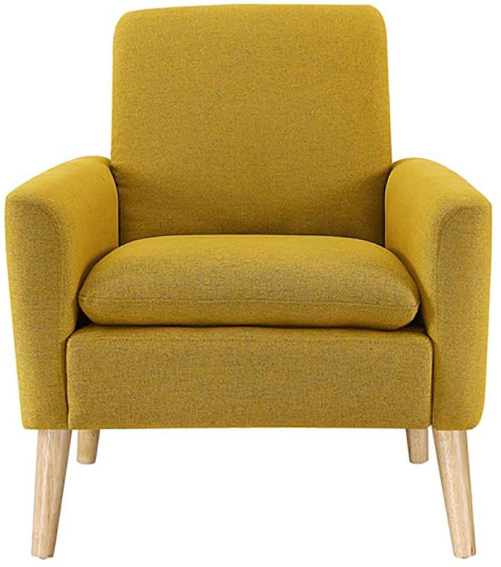 """Preferred Ronald Polyester Blend Armchairs Inside Biggerstaff 30"""" W Polyester Blend Armchair (View 3 of 20)"""