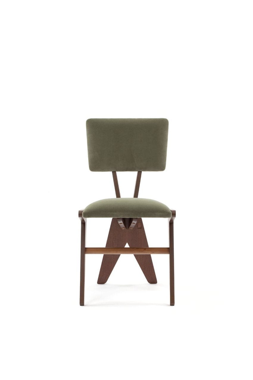Preferred V Dining Chair Pertaining To Chiles Linen Side Chairs (View 9 of 20)