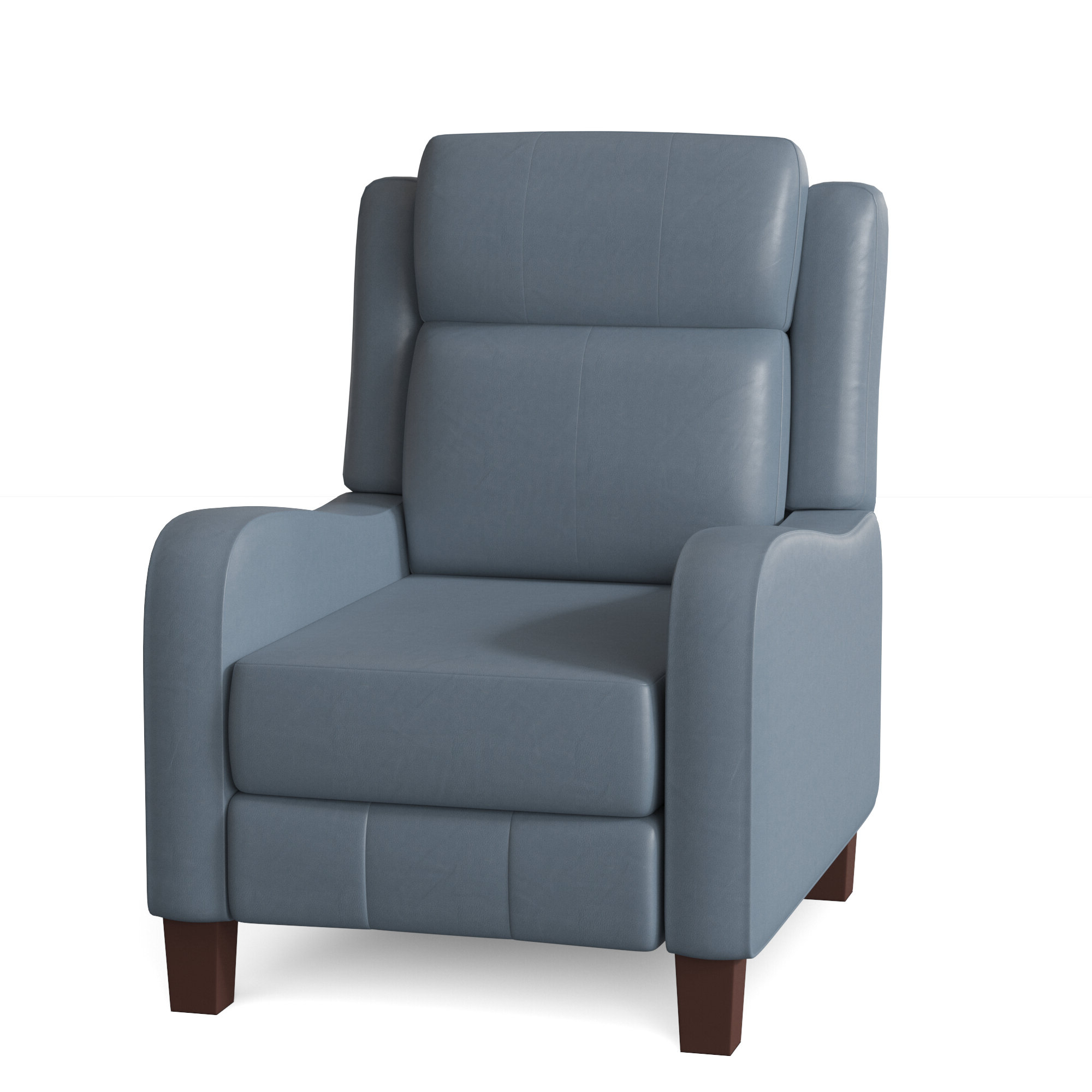 Prestige Genuine Leather Recliner Pertaining To Fashionable Filton Barrel Chairs (View 20 of 20)