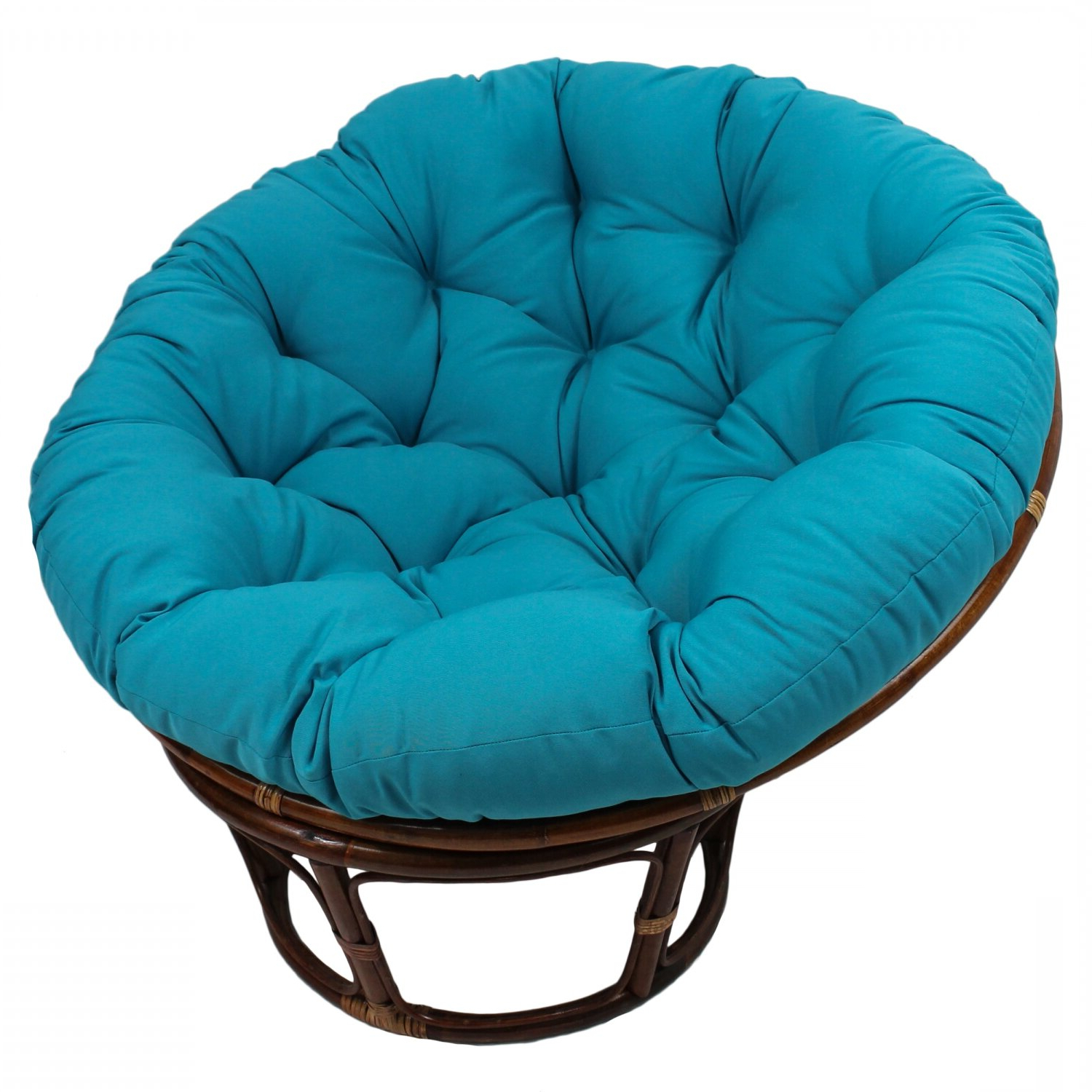 """Renay Papasan Chairs Throughout Current Orndorff 44"""" Tufted Papasan Chair (View 4 of 20)"""