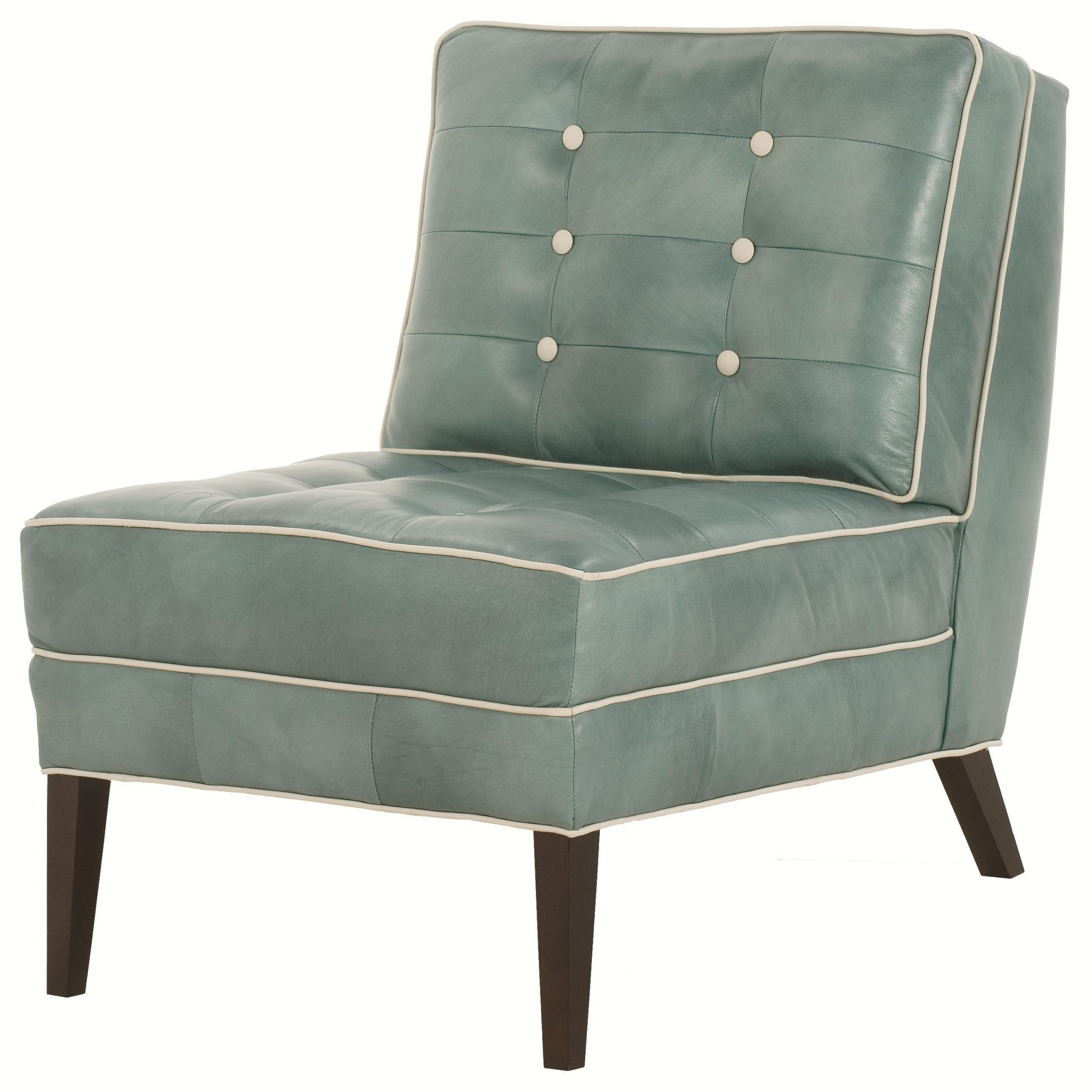 Robin Bruce Accent Chairs Architect Armless Contemporary For Trendy Armless Upholstered Slipper Chairs (View 16 of 20)