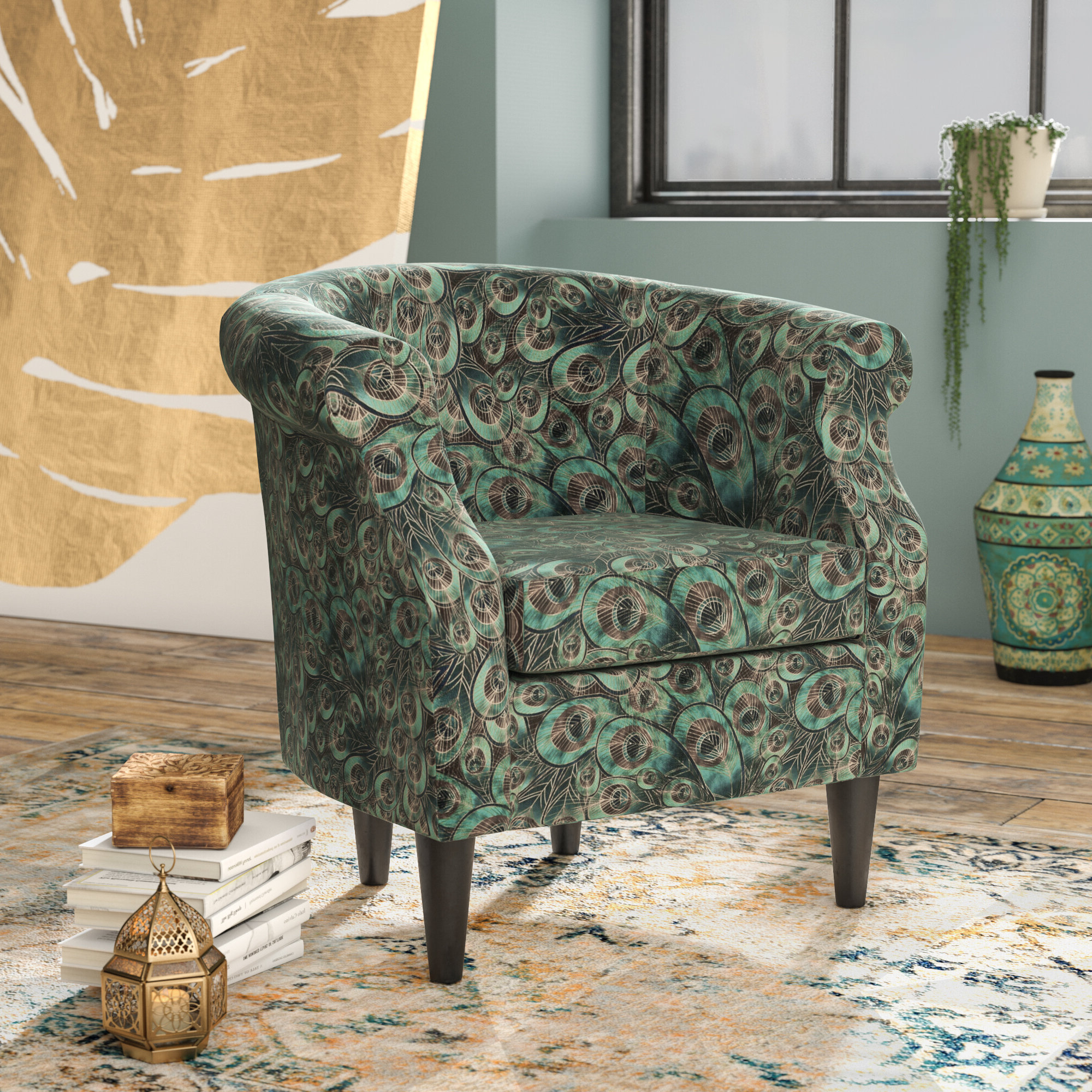 Ronda Barrel Chair With Newest Ronda Barrel Chairs (View 5 of 20)