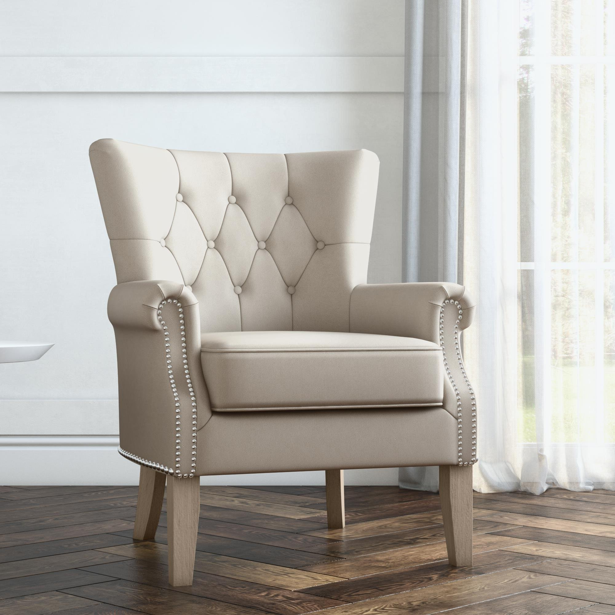 Roseanna Accent Armchair For Most Recent Borst Armchairs (View 5 of 20)