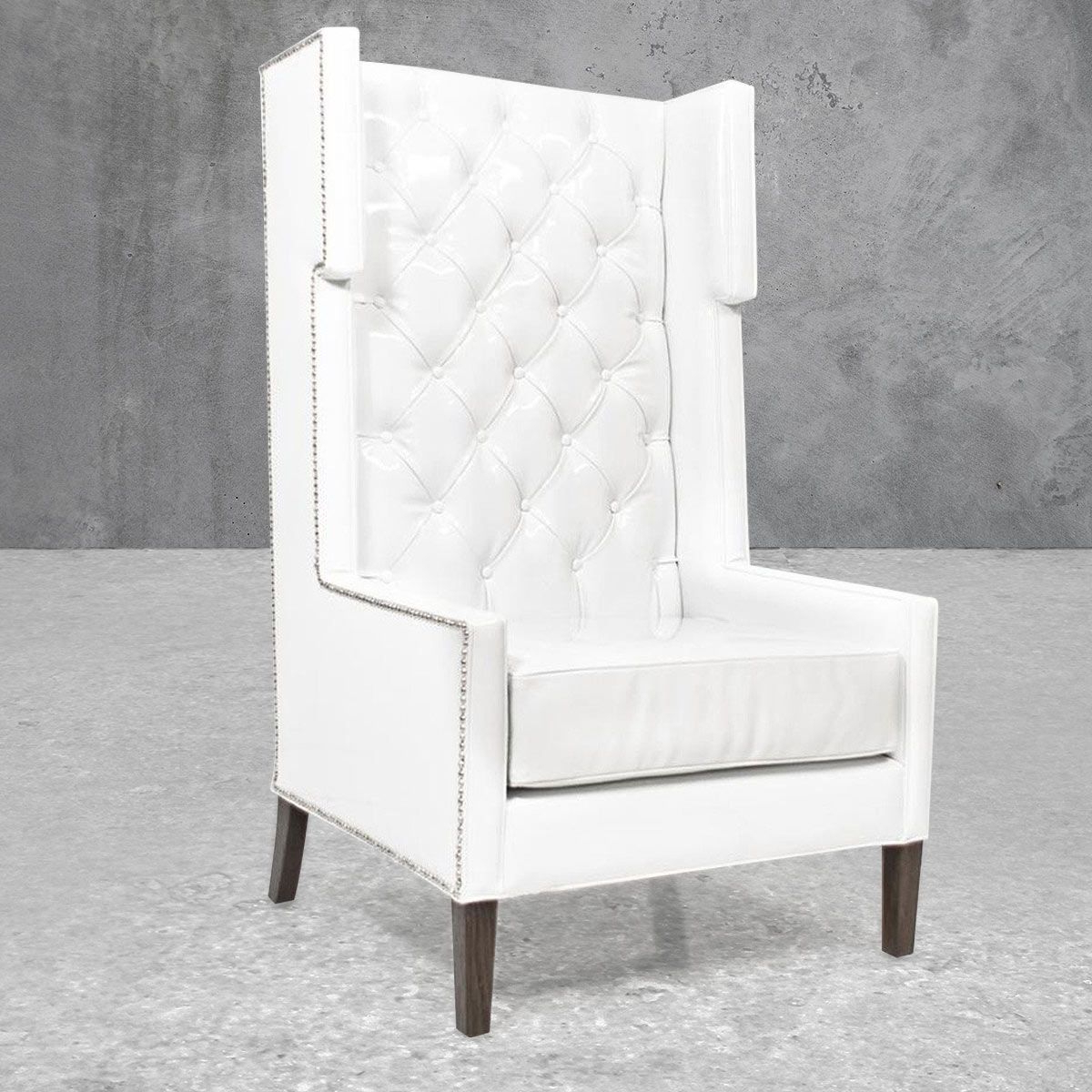 Saige Wingback Chairs Within Newest Pin On Decor  Chairs (View 9 of 20)
