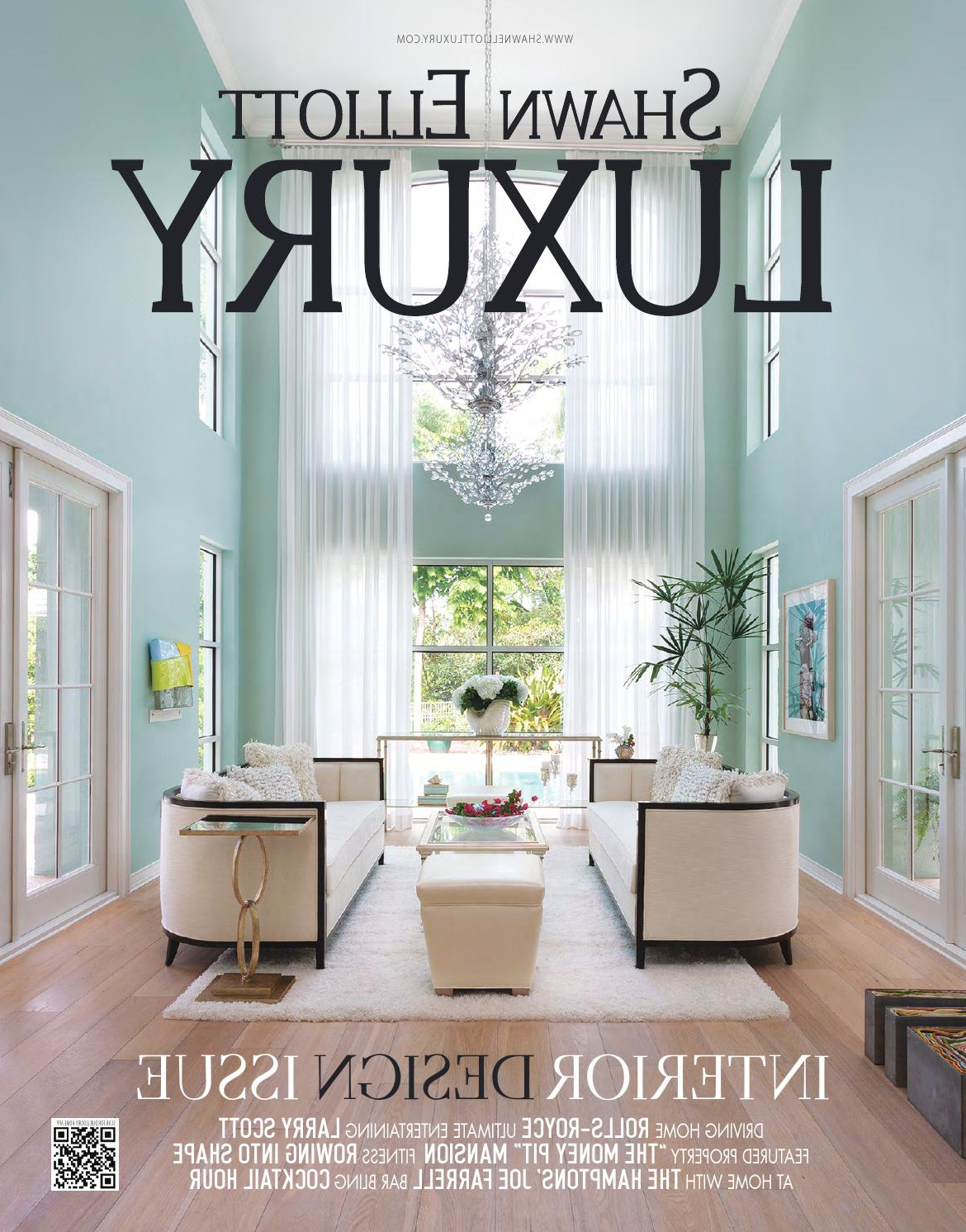 Shawn Elliott Luxury – Interior Design Issueluxuryre – Issuu Pertaining To Well Known Onderdonk Faux Leather Convertible Chairs (View 17 of 20)
