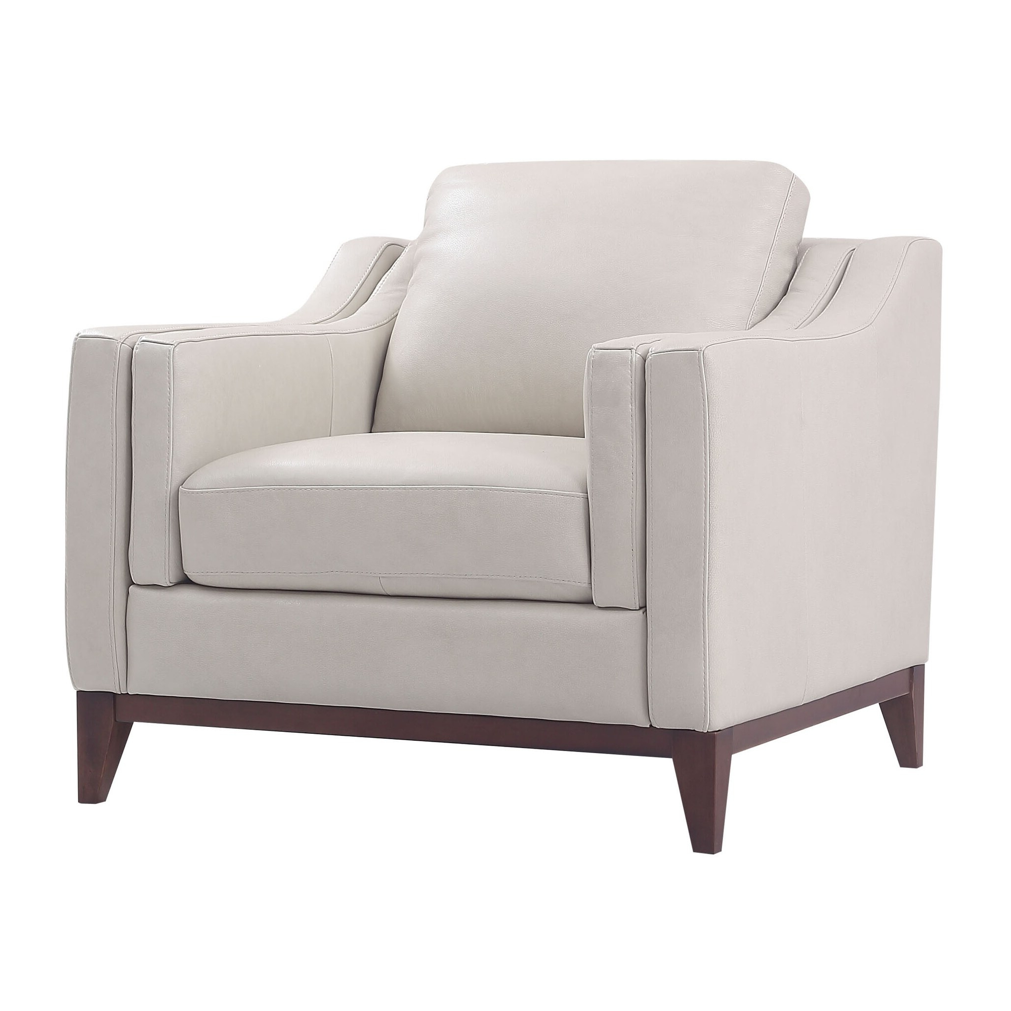 Sheldon Tufted Top Grain Leather Club Chairs Throughout Current Lydia Top Grain Leather Club Chair (View 8 of 20)