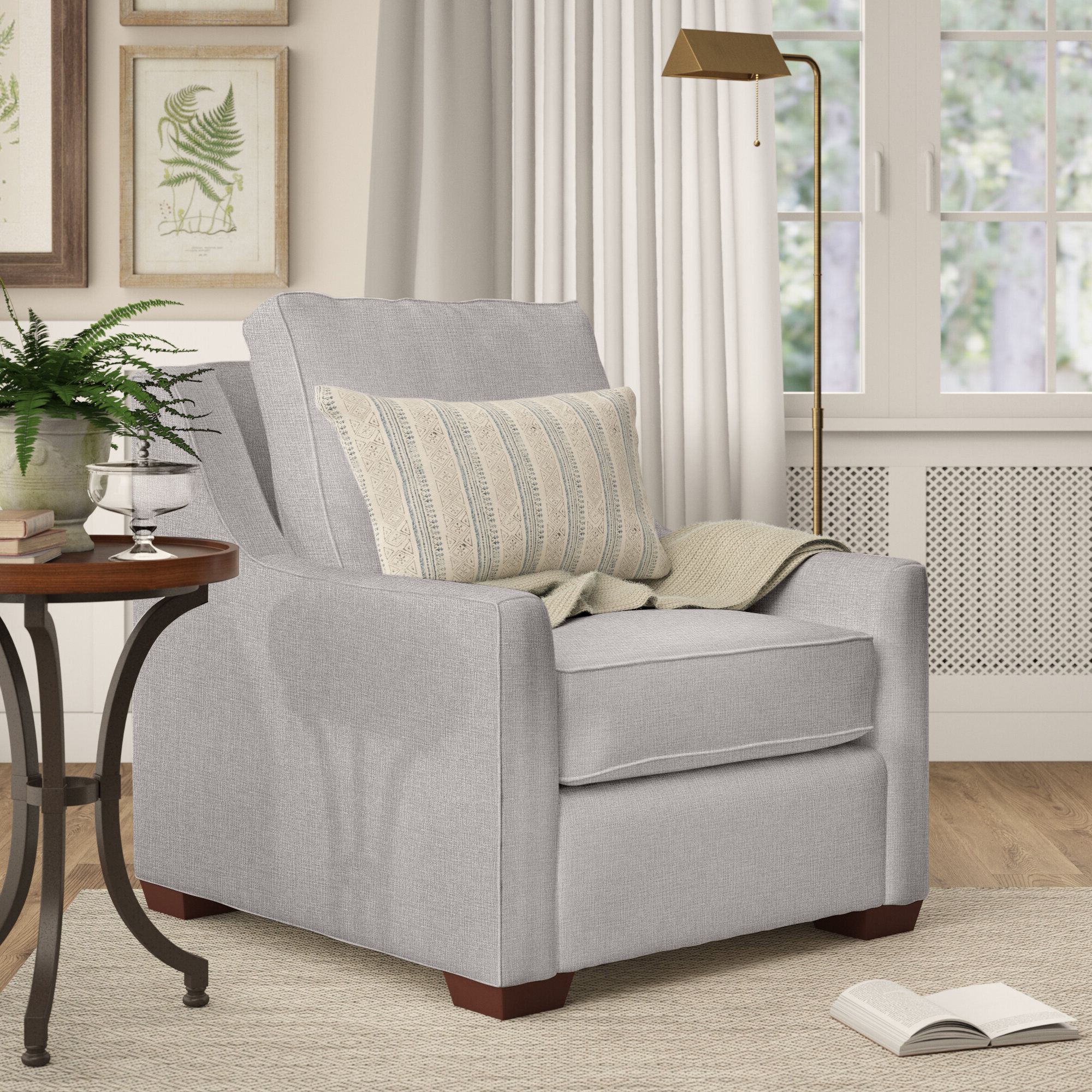Silver Birch Lane™ Accent Chairs You'll Love In (View 12 of 20)