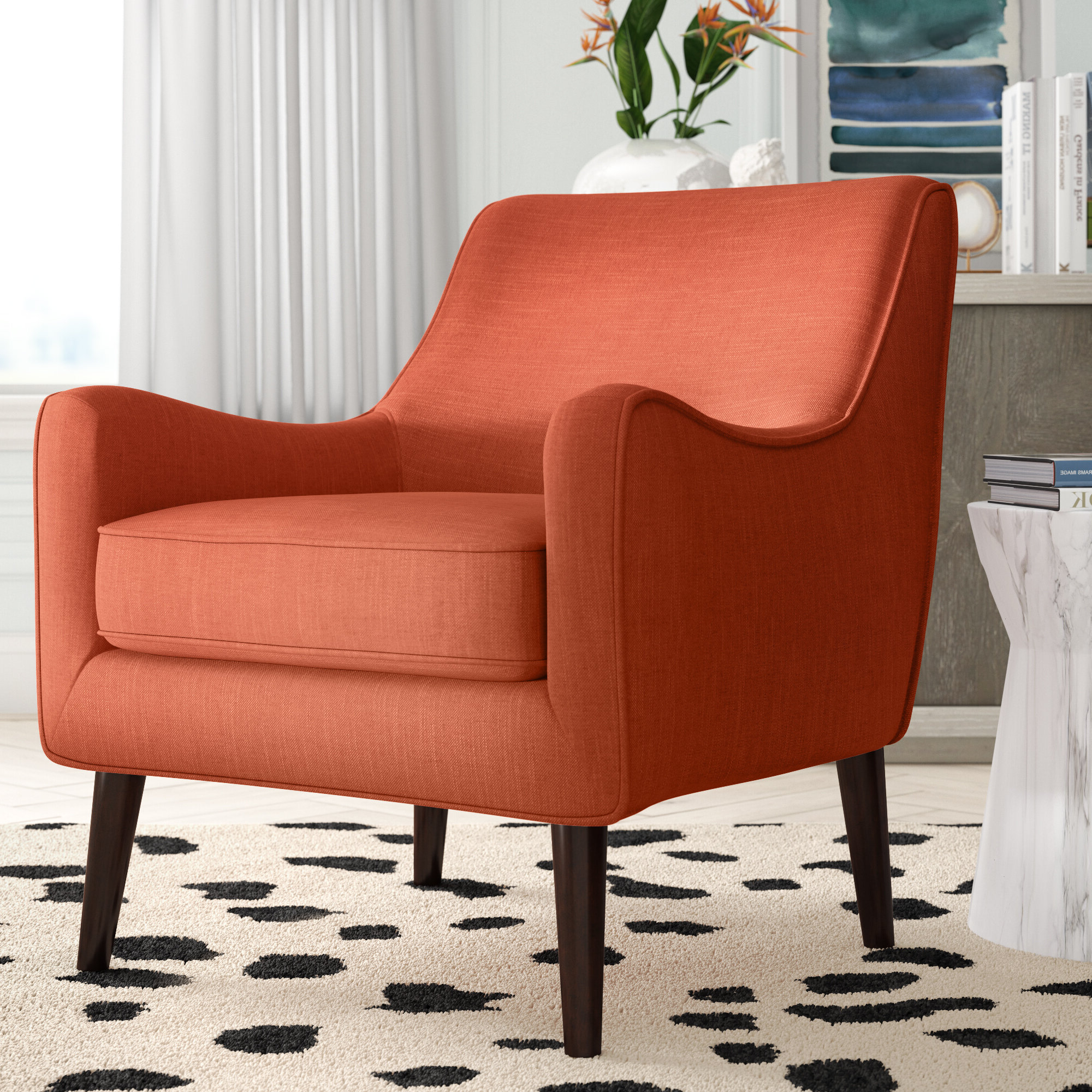 Spraggins Armchair Throughout Most Current Draco Armchairs (View 10 of 20)