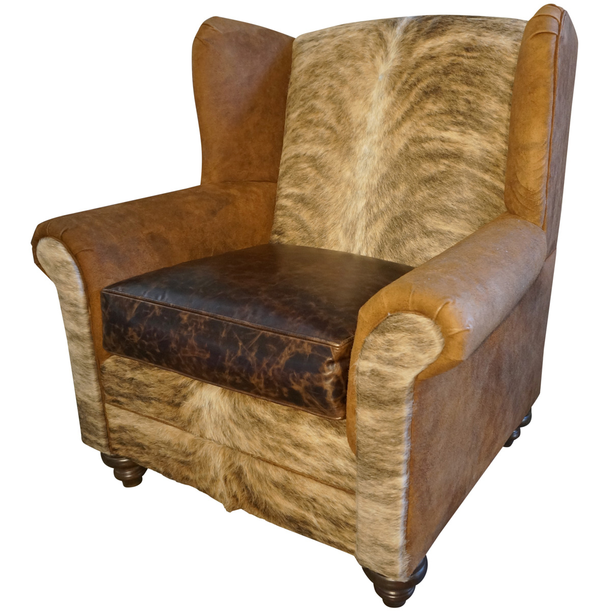 Sweetwater Wingback Chairs Pertaining To Most Up To Date Mountain Home Oversized Wingback Chair (View 10 of 20)