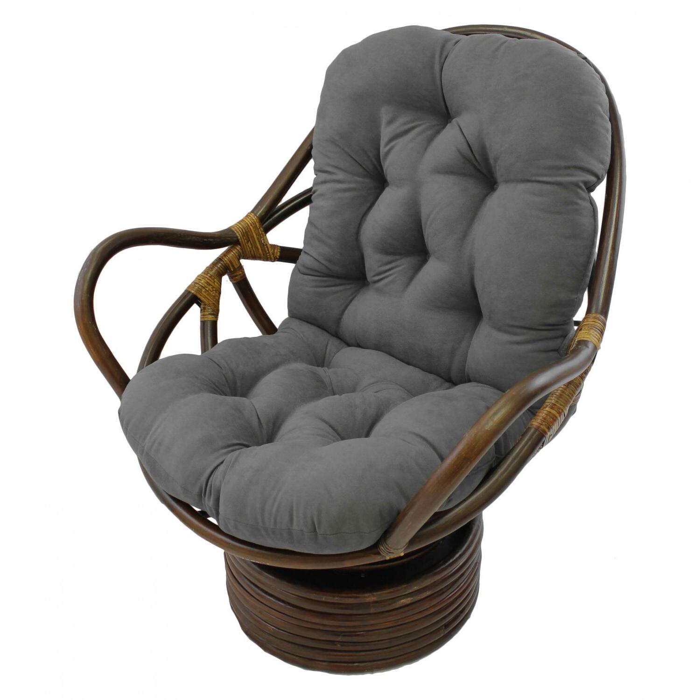 Swivel Papasan Chair In Newest Renay Papasan Chairs (View 19 of 20)