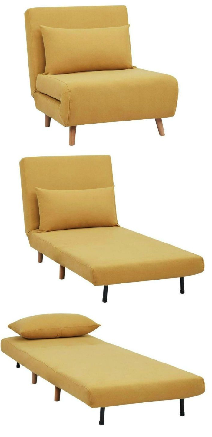 Ten Sleeper Chairs That Turn Any Space Into A Guest Room In With Trendy Bolen Convertible Chairs (View 17 of 20)