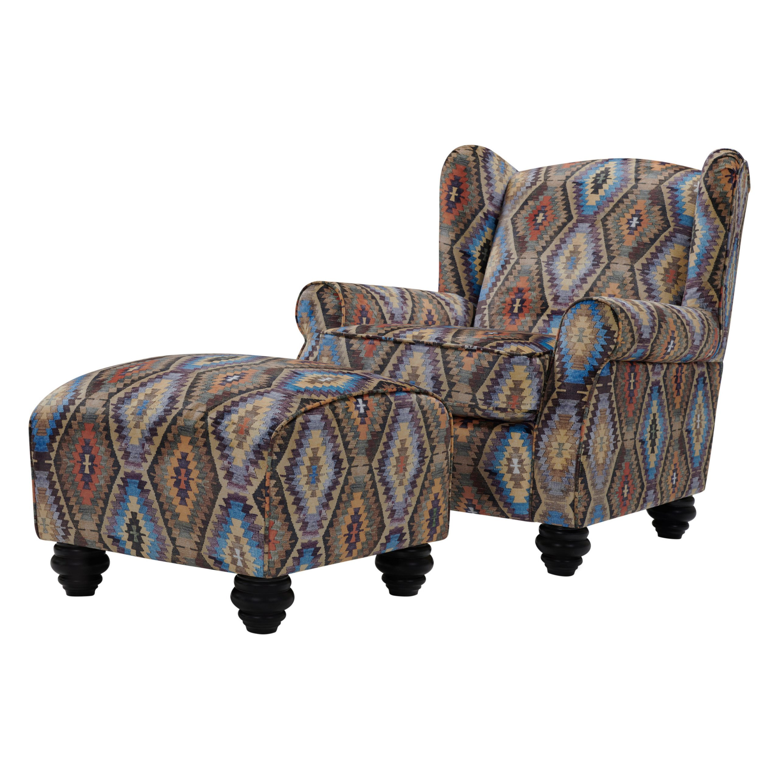 Trendy Brown Ottoman Included Accent Chairs You'll Love In 2021 Pertaining To Harmon Cloud Barrel Chairs And Ottoman (View 17 of 20)