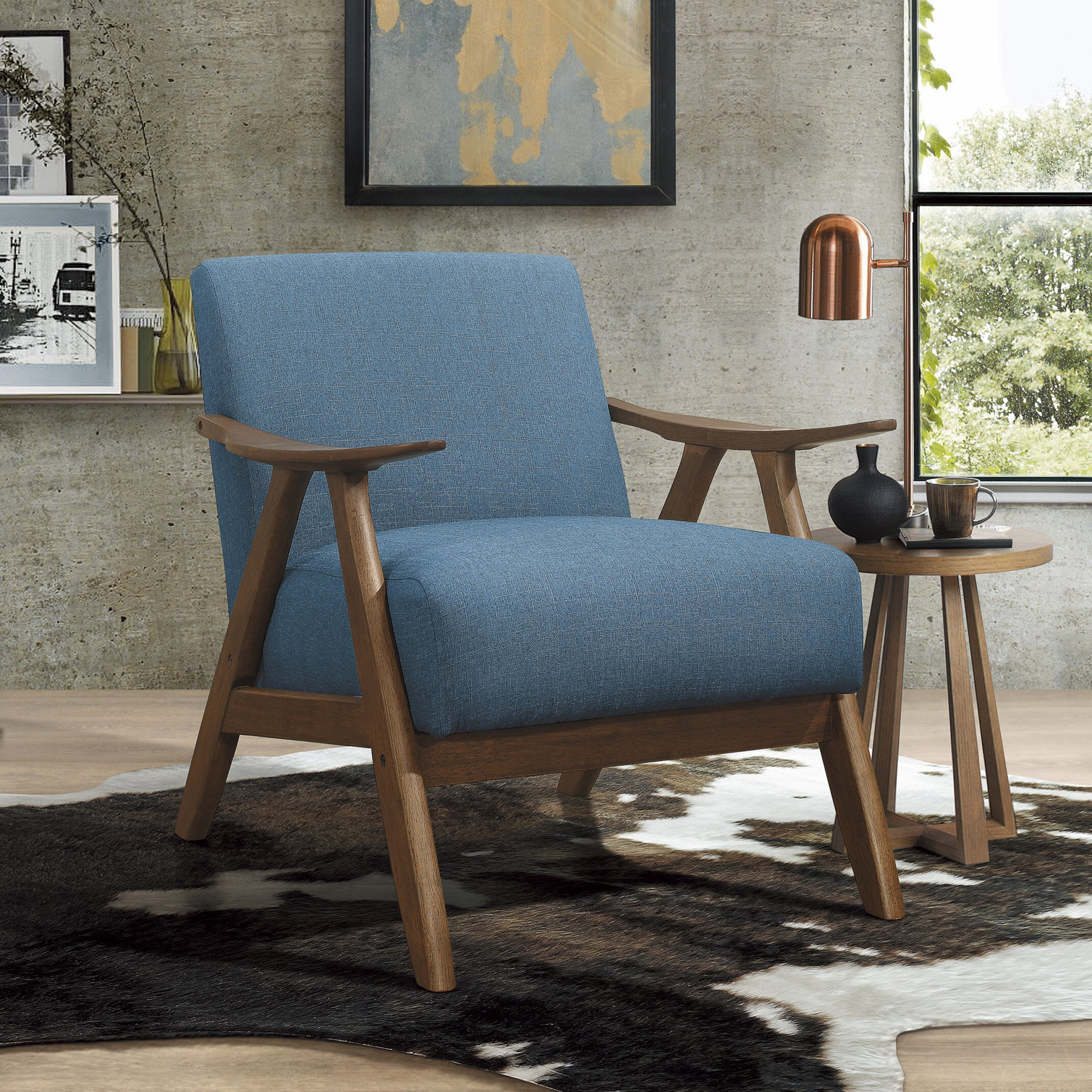 Trendy Hofstetter Armchairs Throughout George Oliver Hofstetter Armchair & Reviews (View 2 of 20)