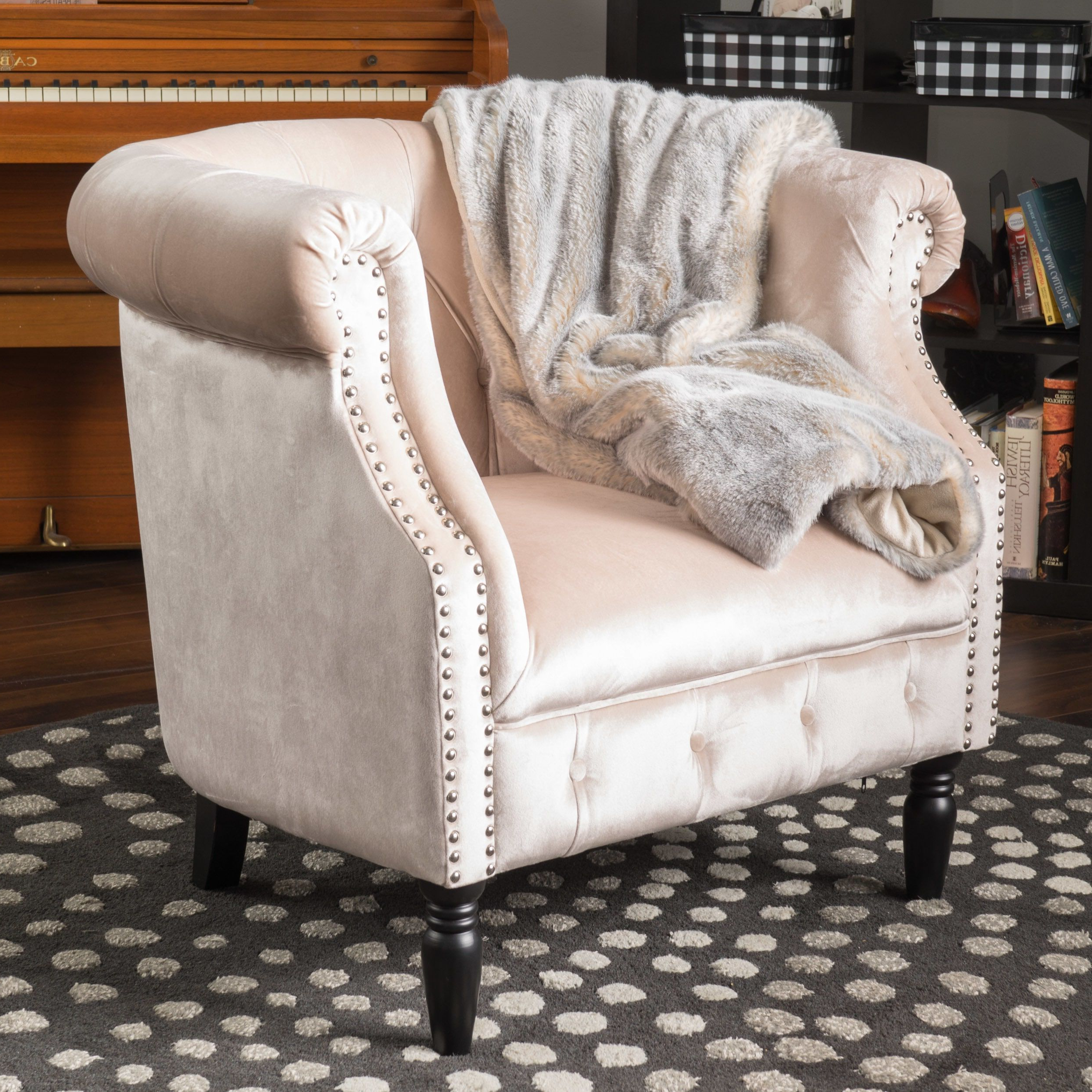 Trendy Maubara Tufted Wingback Chairs In Pin On Chairs (View 8 of 20)
