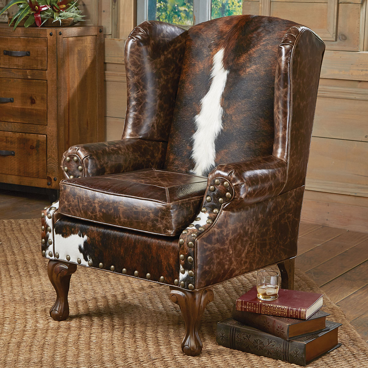 Trendy Sweetwater Wingback Chairs Regarding Santa Fe Wing Back Chair (View 4 of 20)
