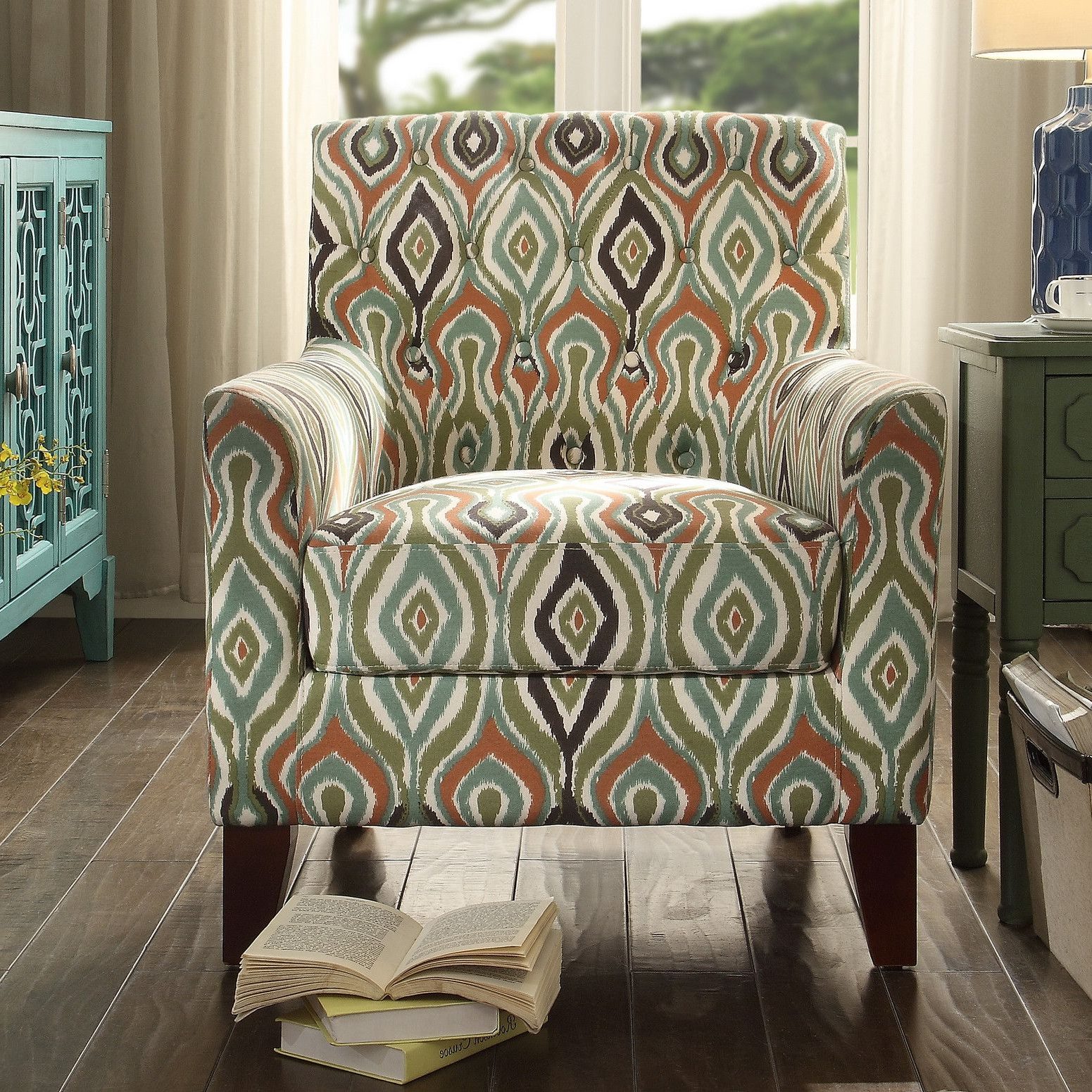 Tufted Arm Chair, Tufted Club Chairs, Armchair (View 3 of 20)