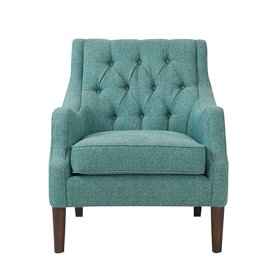 Tufted For Galesville Tufted Polyester Wingback Chairs (View 10 of 20)