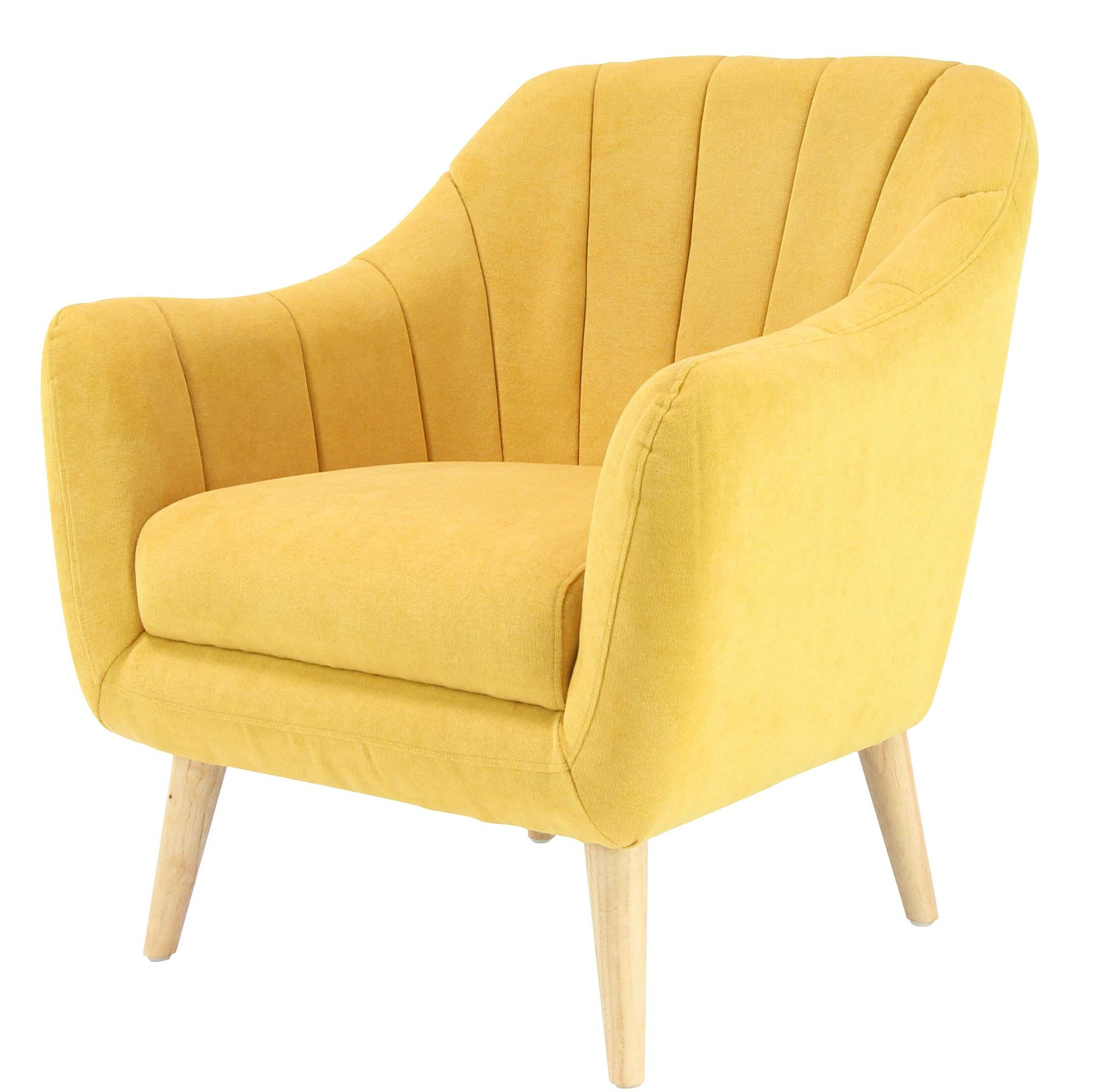 Veasley Armchair Pertaining To Most Current Hanner Polyester Armchairs (View 9 of 20)