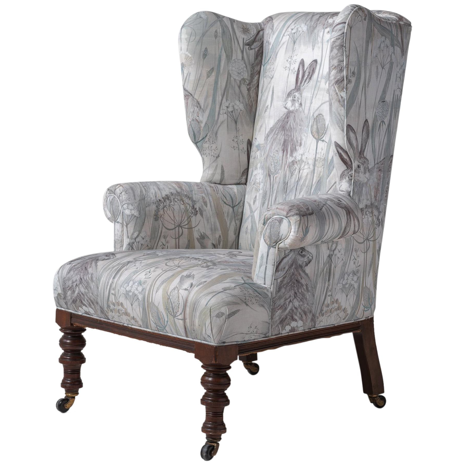 Victorian Wingback Chair, England, Circa 1840 With Regard To Most Popular Busti Wingback Chairs (View 20 of 20)