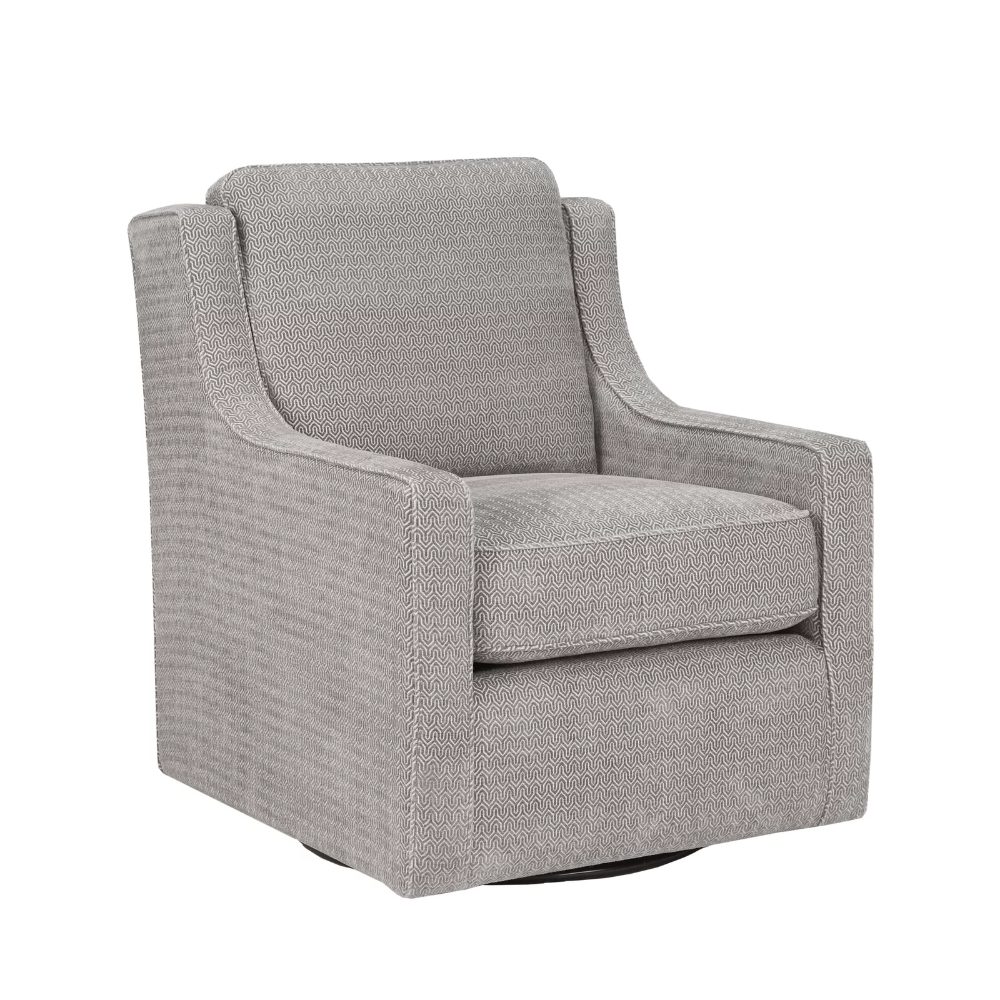 Vineland Polyester Swivel Armchairs Regarding Newest Vineland Swivel Armchair (View 4 of 20)