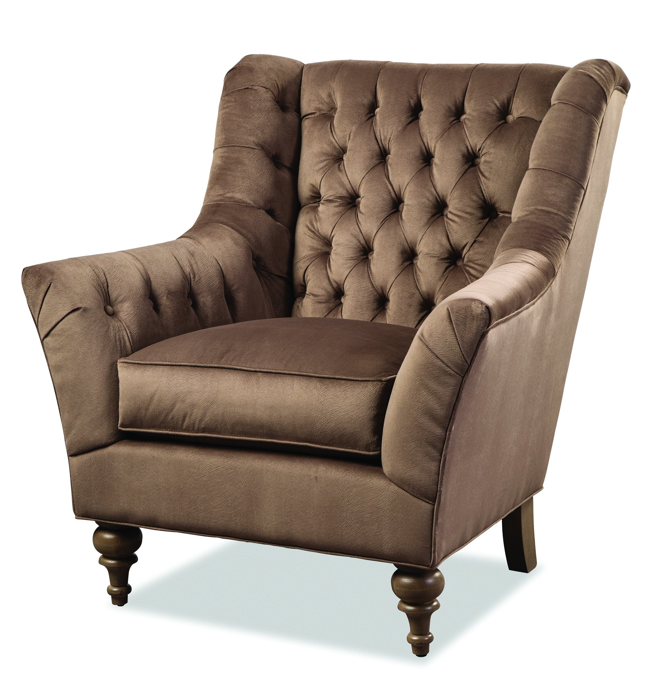 Waterton Wingback Chairs For Well Known Espresso Wood Wingback Accent Chairs You'll Love In (View 6 of 20)