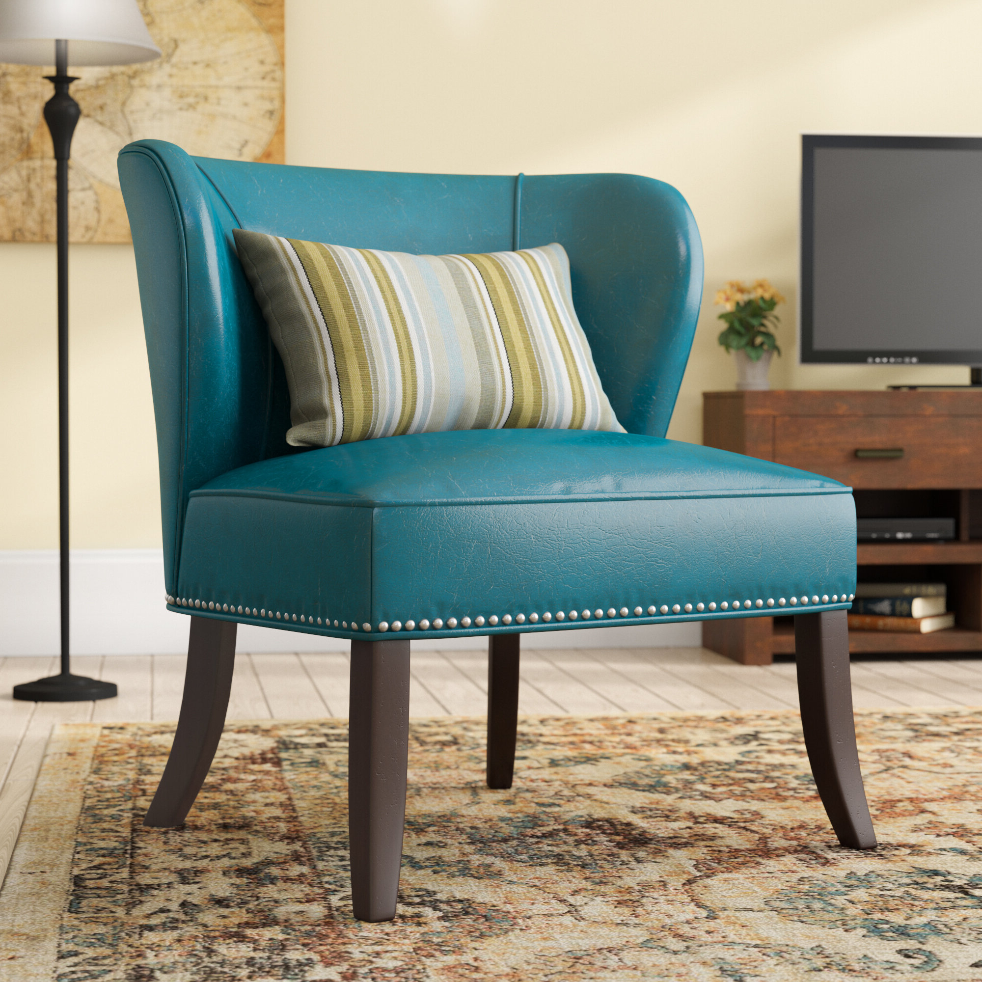 Wayfair For Alush Accent Slipper Chairs (set Of 2) (View 7 of 20)