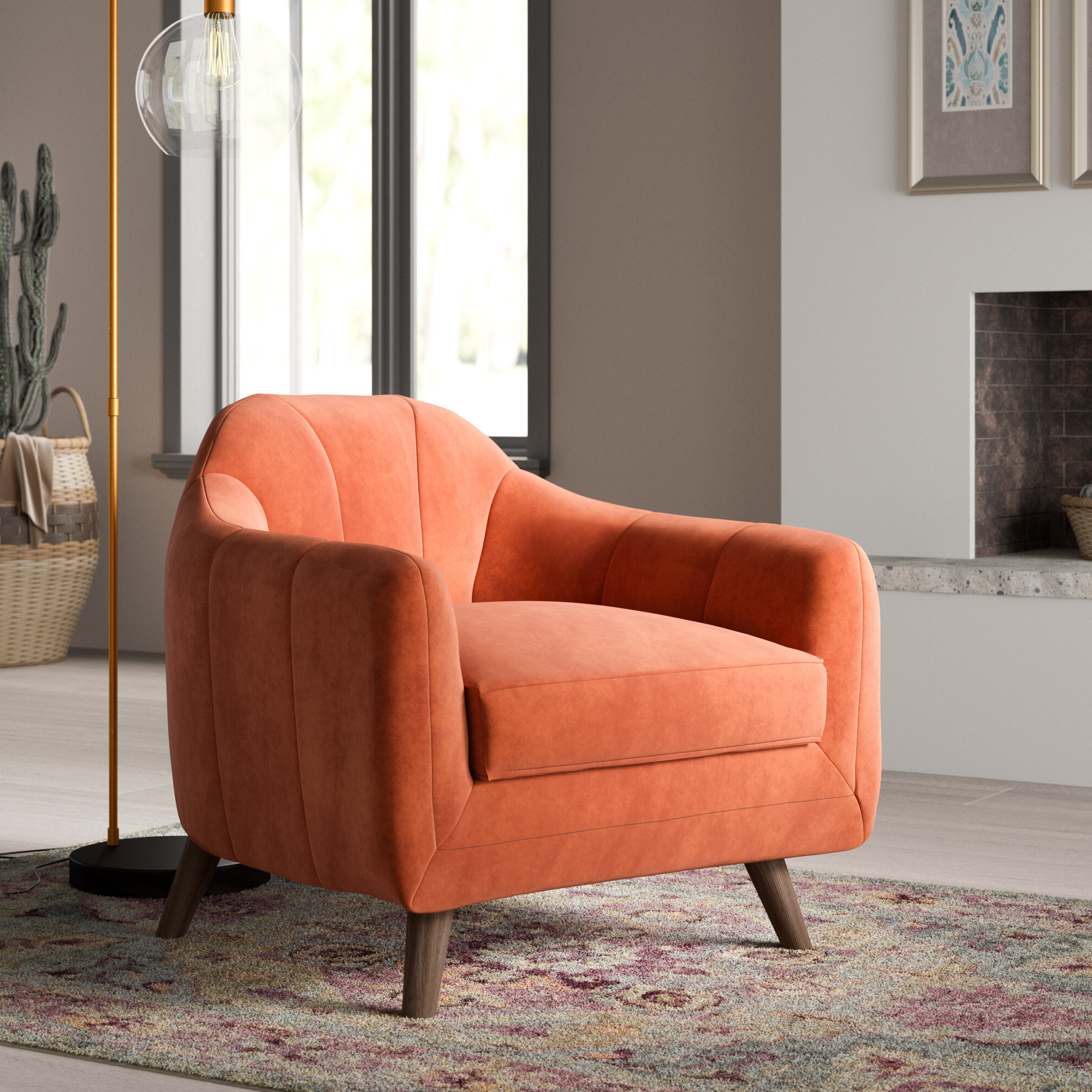 Wayfair In Fashionable Artressia Barrel Chairs (View 8 of 20)