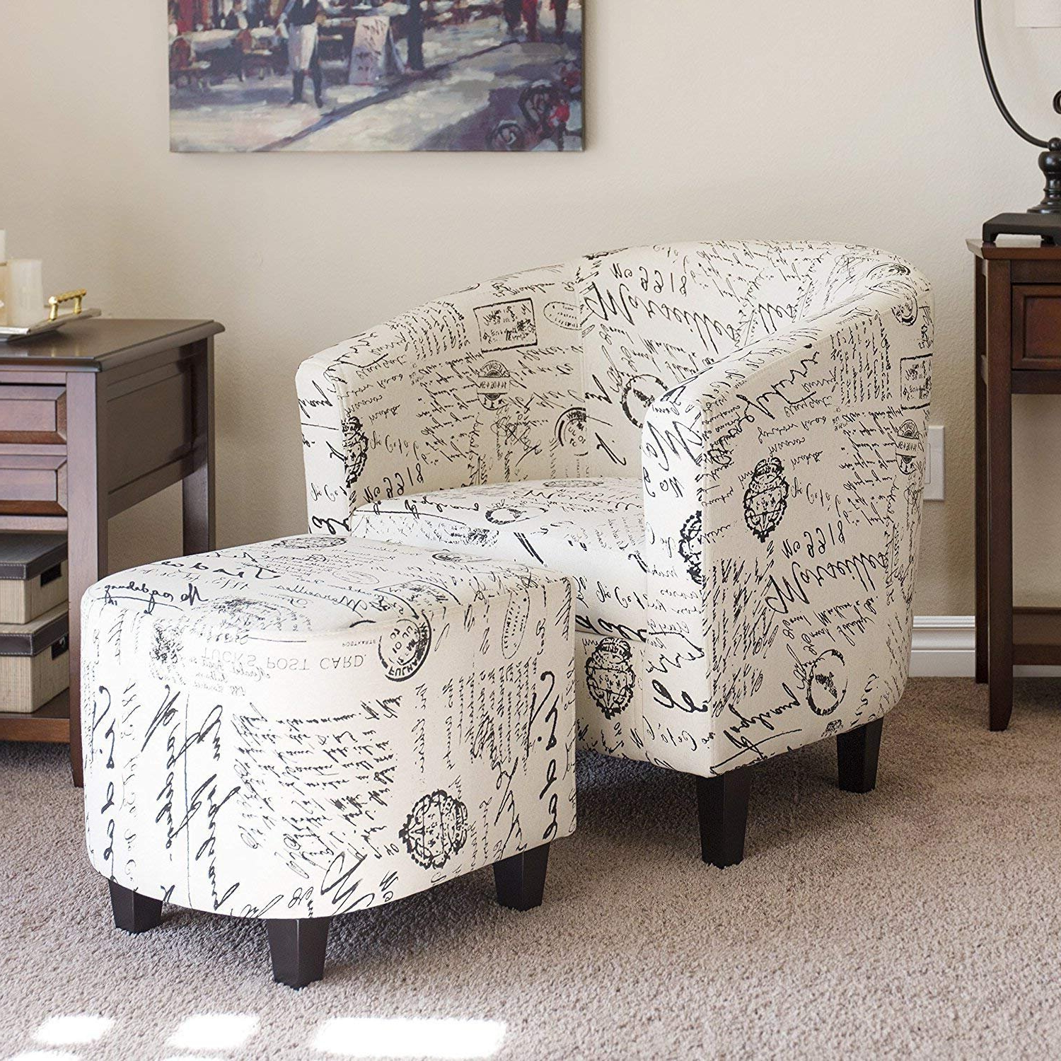 Wayfair Inside Widely Used Abbottsmoor Barrel Chair And Ottoman Sets (View 16 of 20)