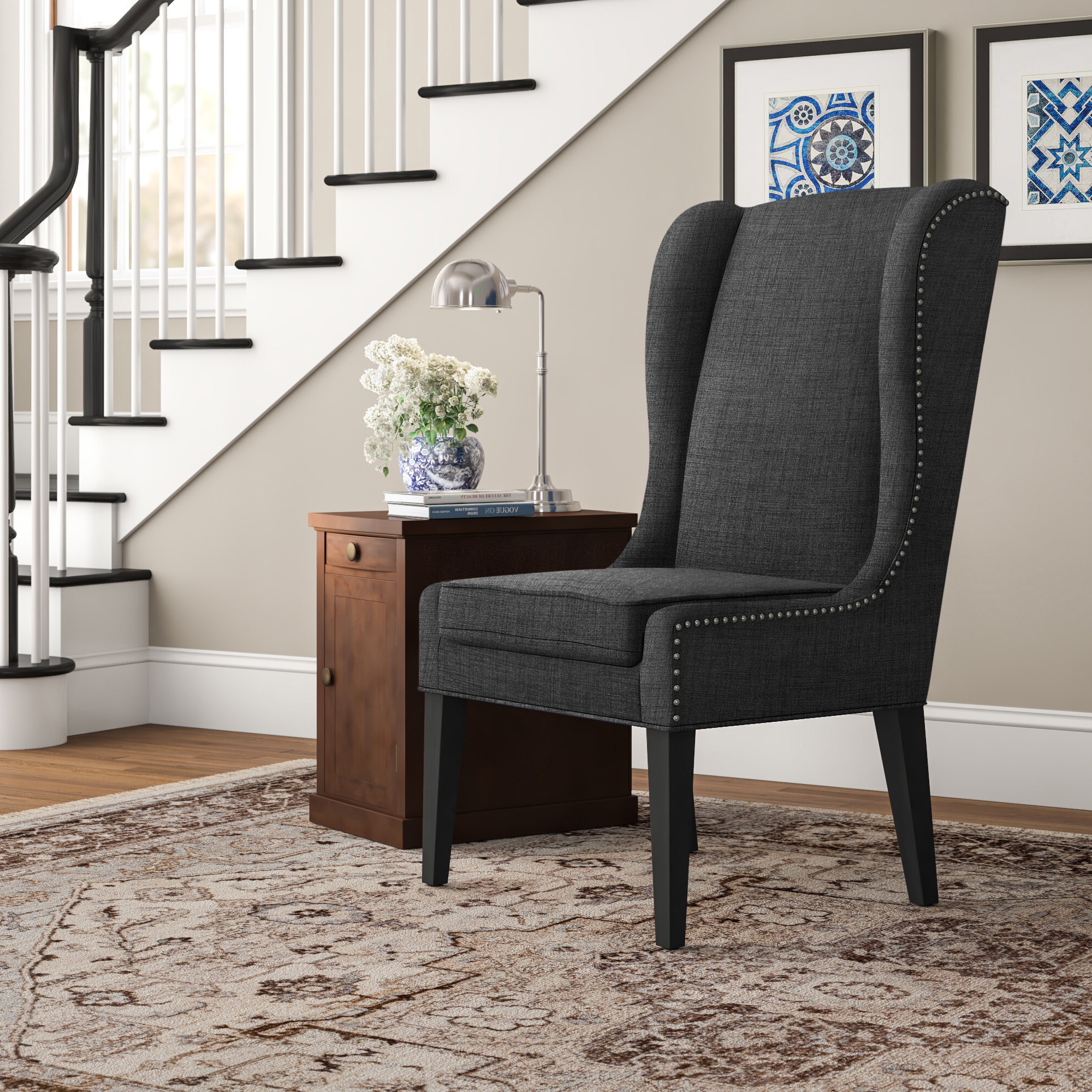 Wayfair Intended For Andover Wingback Chairs (View 3 of 20)