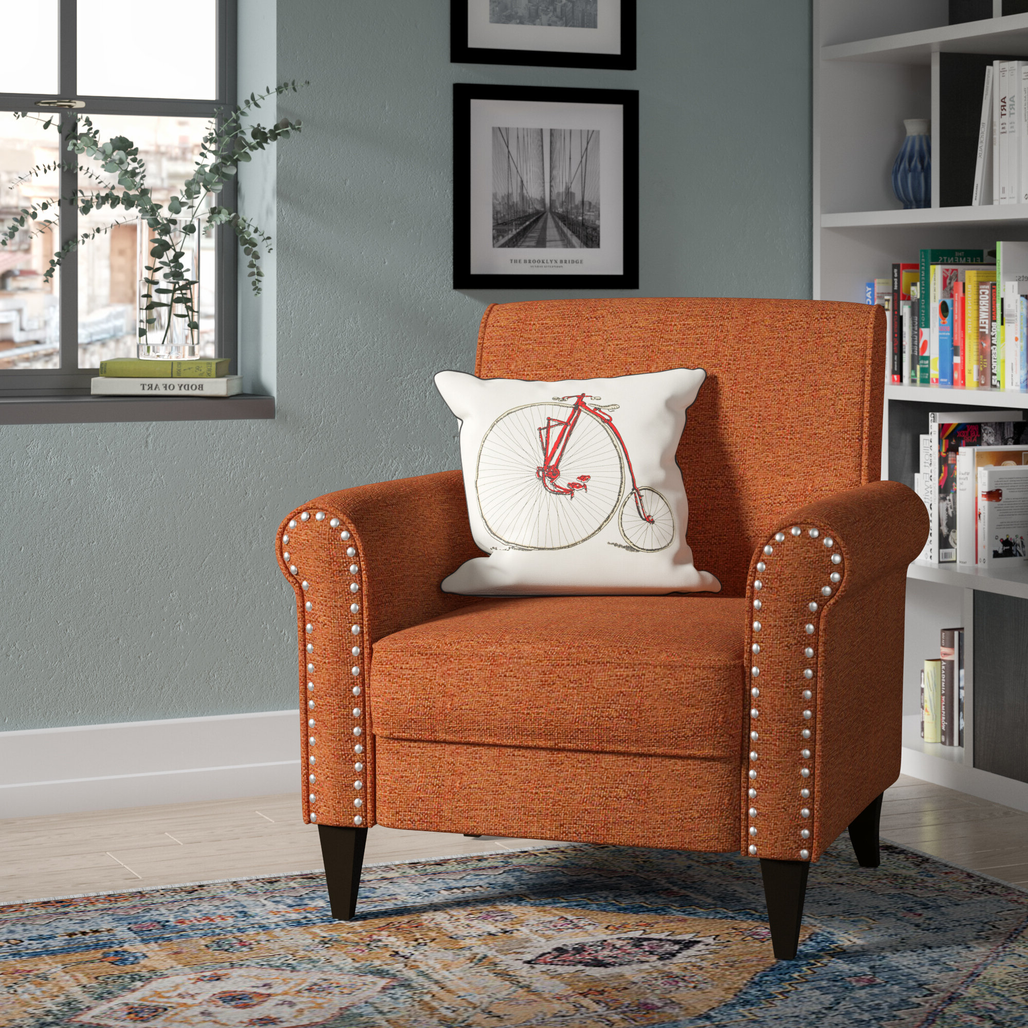 Wayfair Regarding Most Current Pitts Armchairs (View 5 of 20)