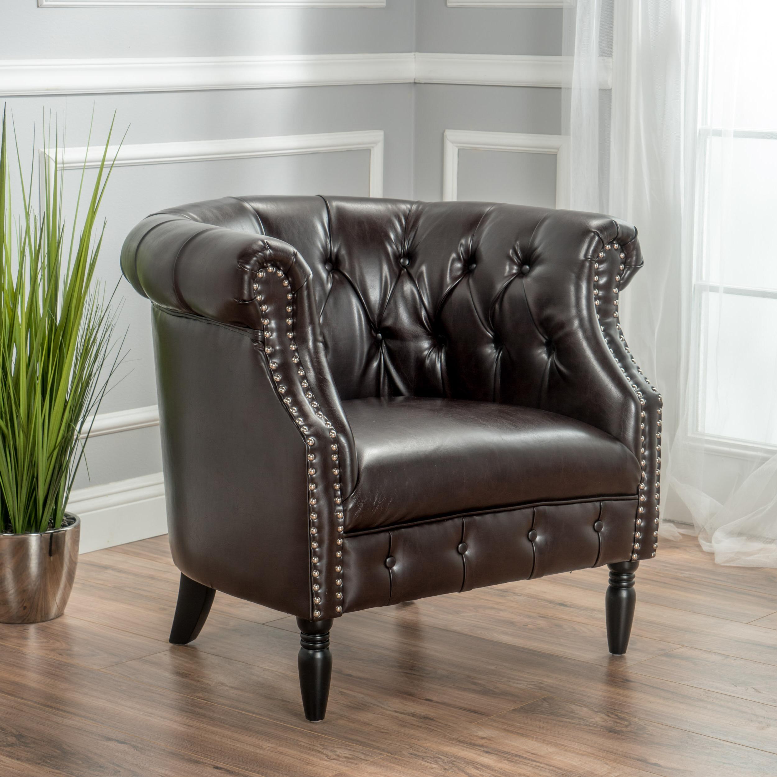 Wayfair Throughout Kjellfrid Chesterfield Chairs (View 7 of 20)