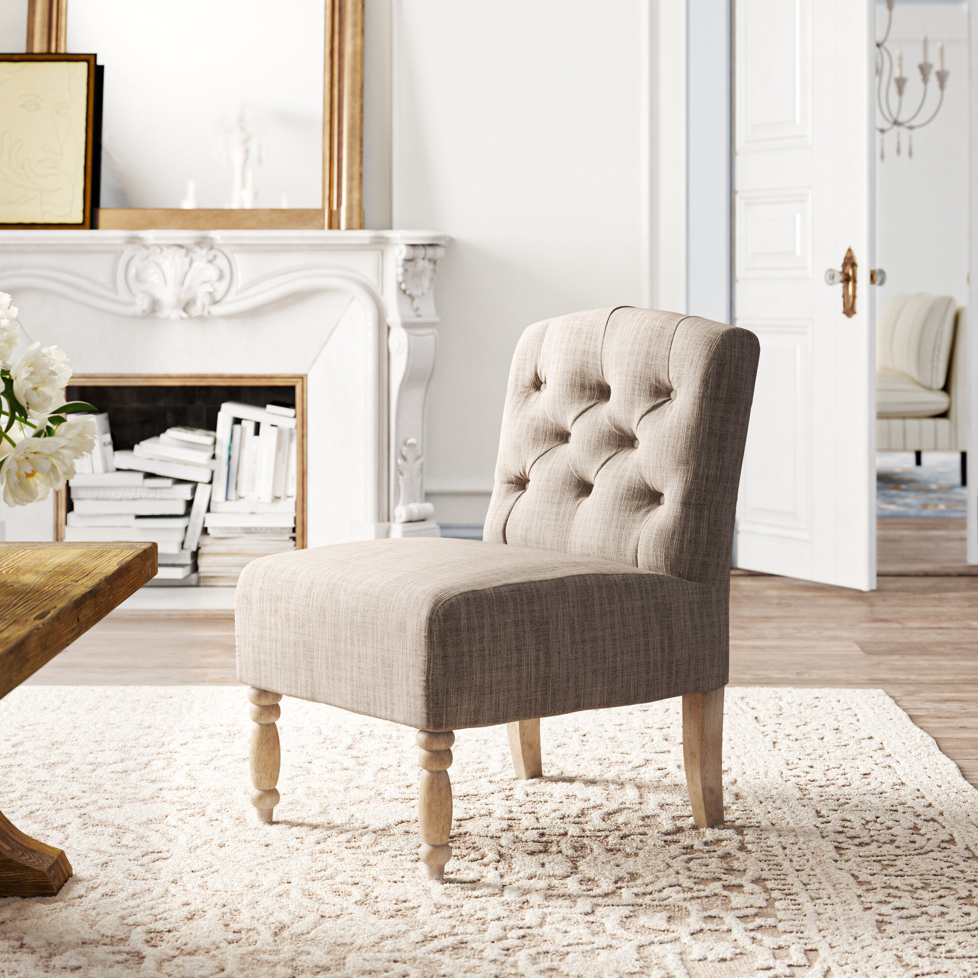 Wayfair Throughout Latest Alush Accent Slipper Chairs (set Of 2) (View 9 of 20)