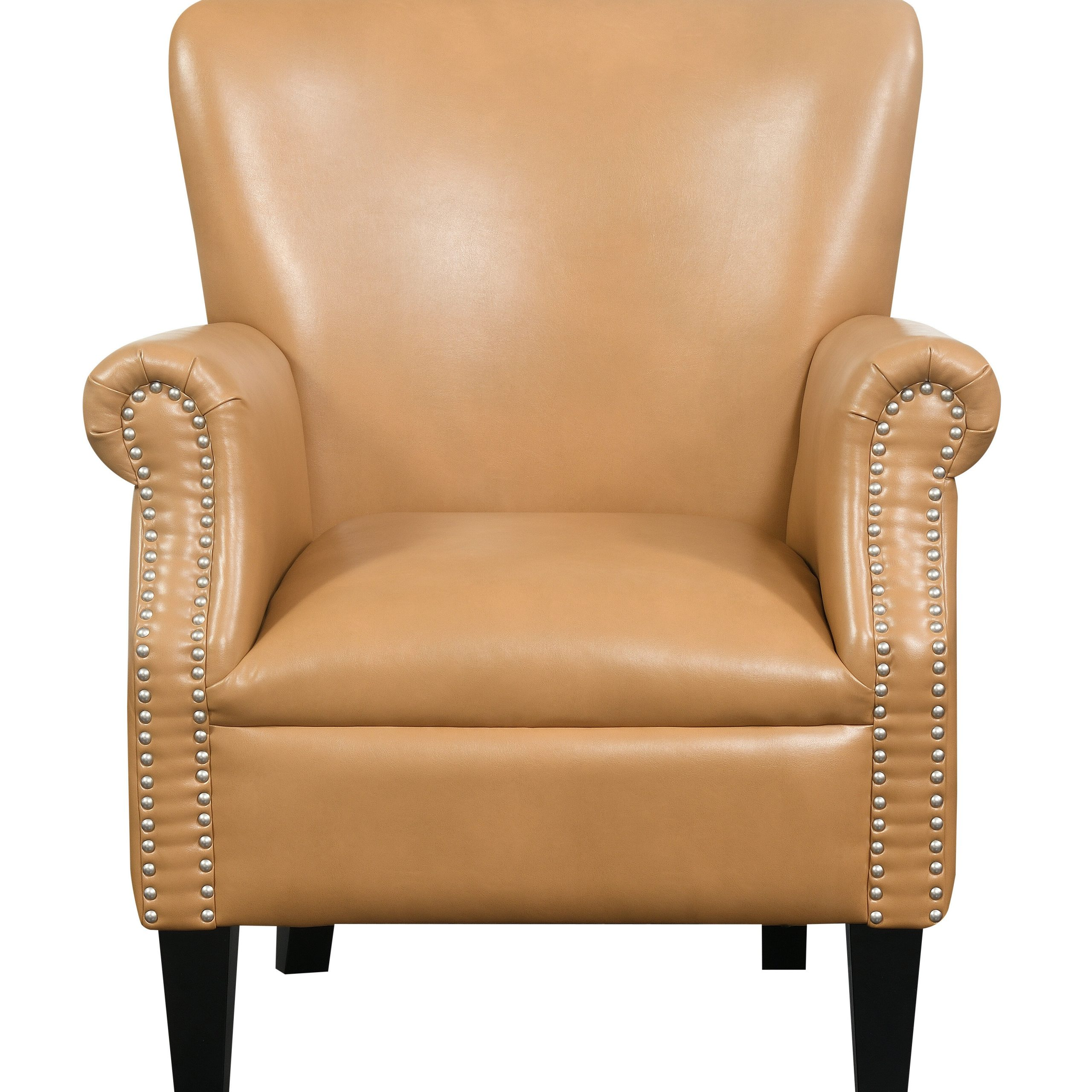 Wayfair Throughout Latest Coomer Faux Leather Barrel Chairs (View 14 of 20)