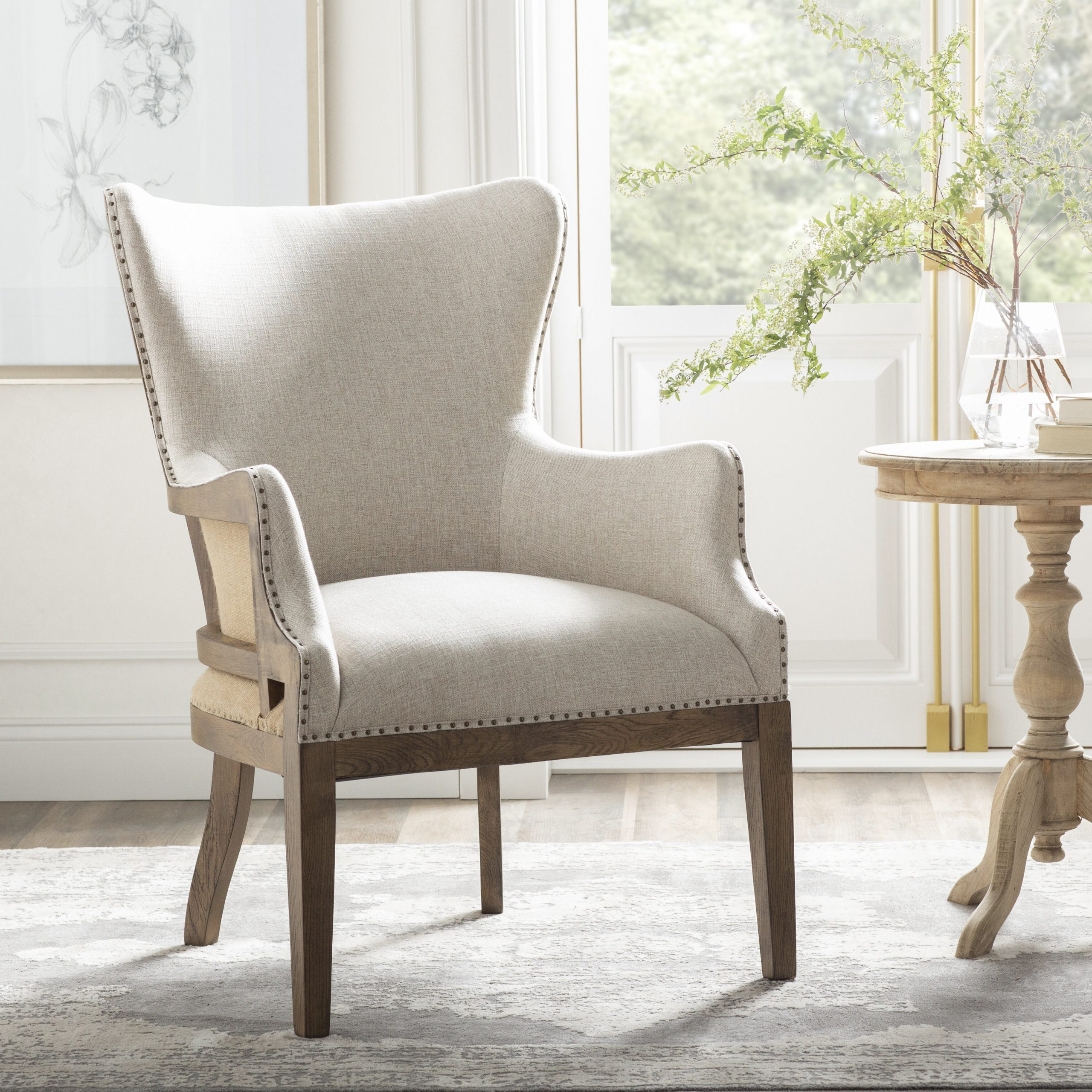 Wayfair Throughout Popular Hutchinsen Polyester Blend Armchairs (View 5 of 20)