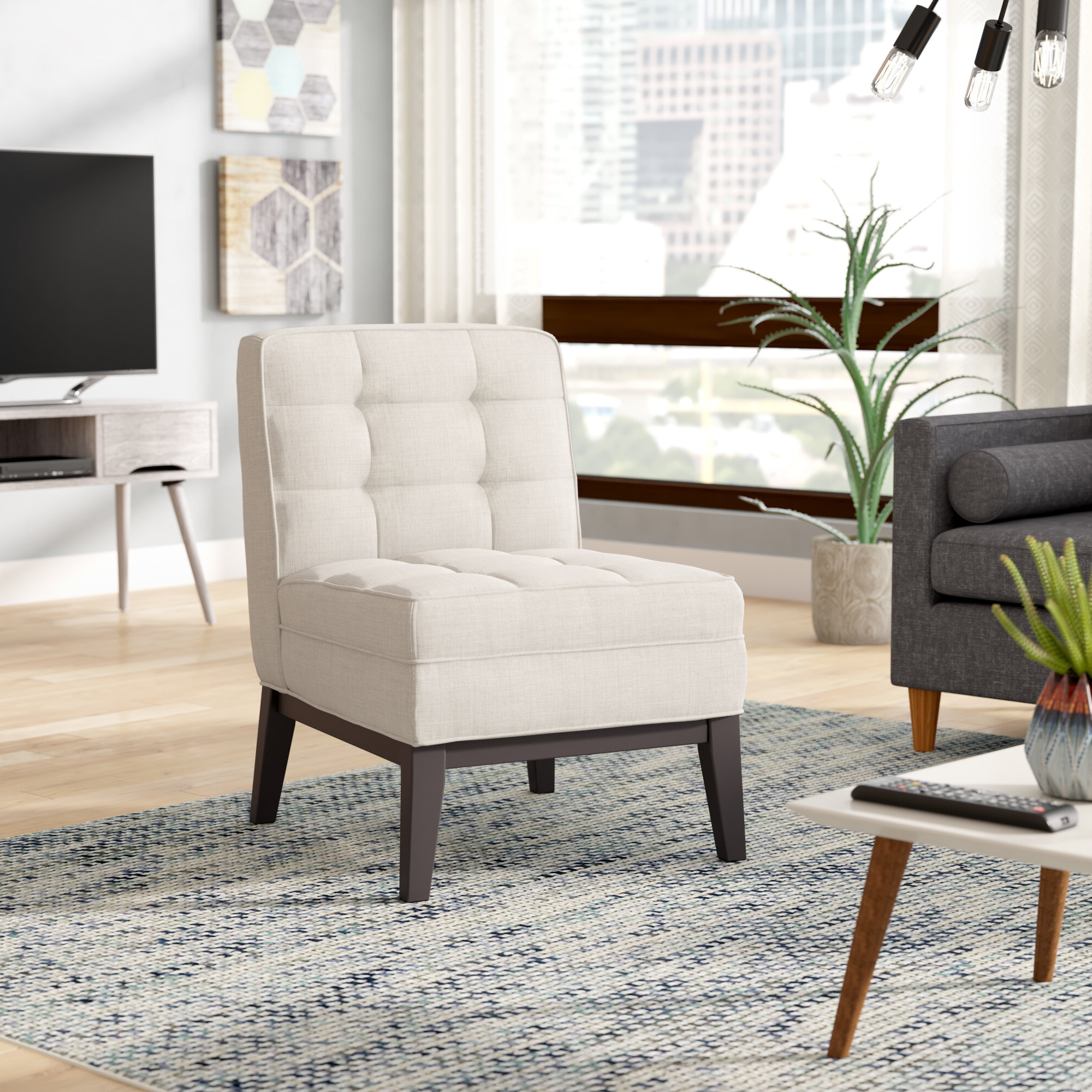 Wayfair With Regard To Most Recently Released Alush Accent Slipper Chairs (set Of 2) (View 11 of 20)