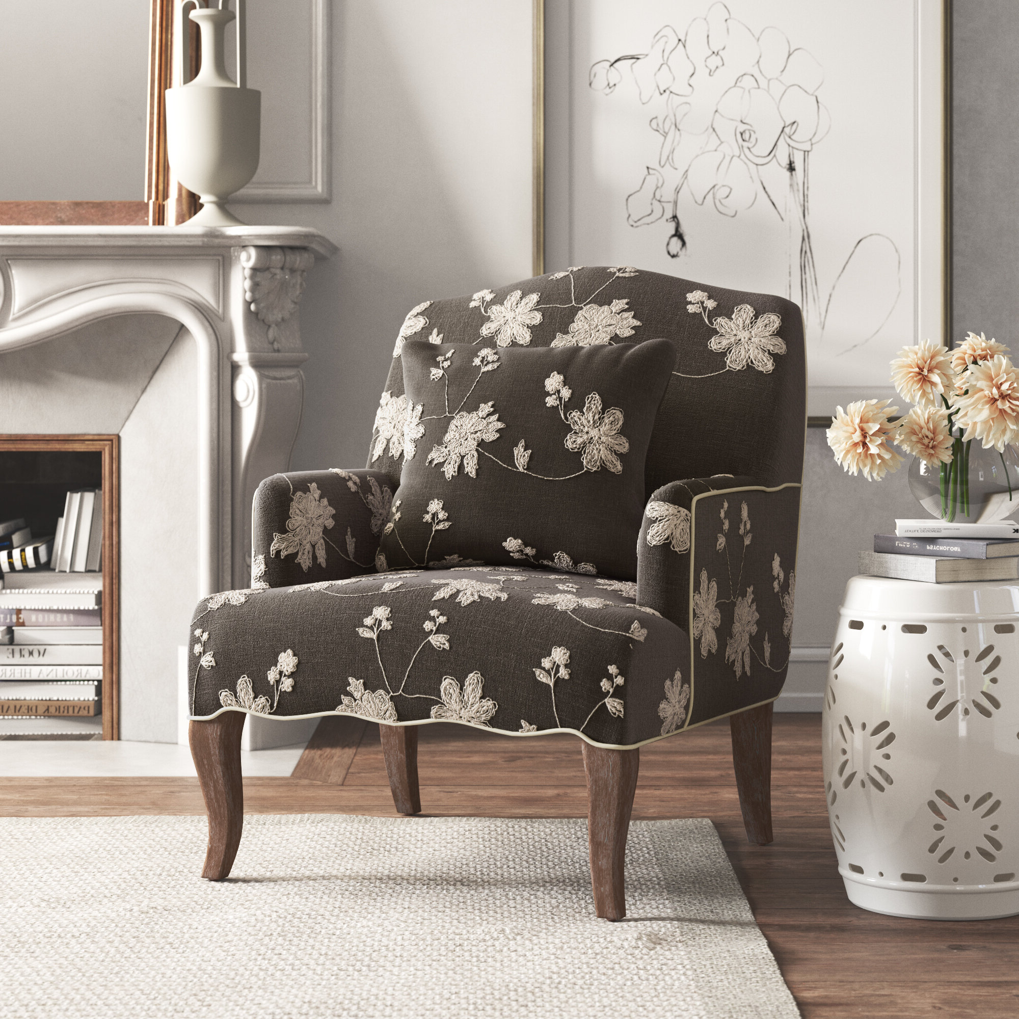 Well Known Bernardston Armchairs Pertaining To Accent Chairs You'll Love In (View 13 of 20)