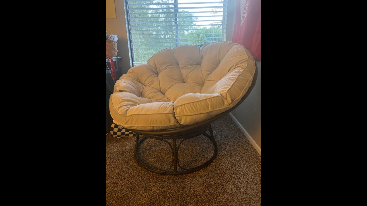 Well Known Best & Most Comfy Papasan Chair 2020 Assembly *best Deal* With Decker Papasan Chairs (View 14 of 20)
