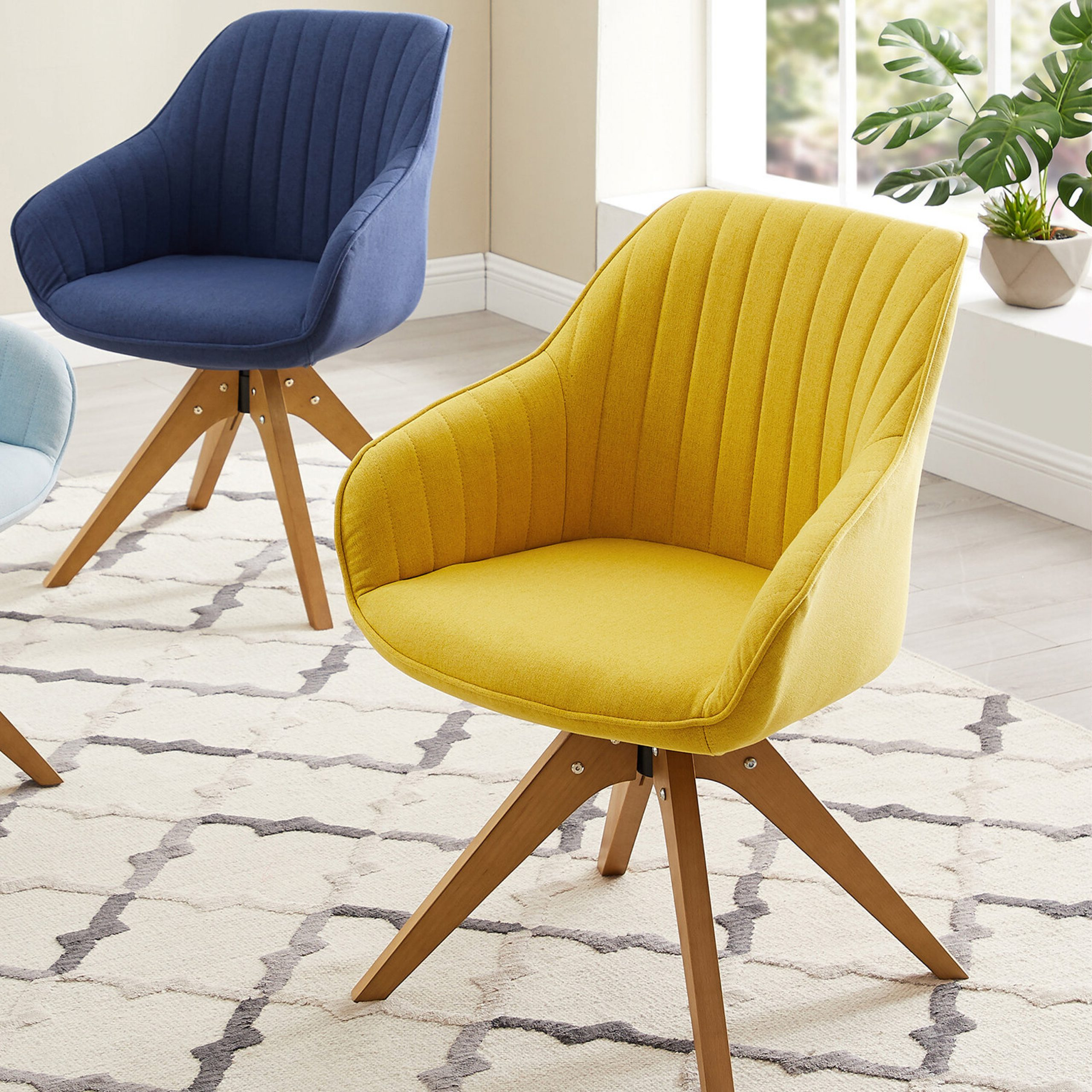 Well Known Brister Swivel Side Chairs With Brister Swivel Side Chair (View 7 of 20)