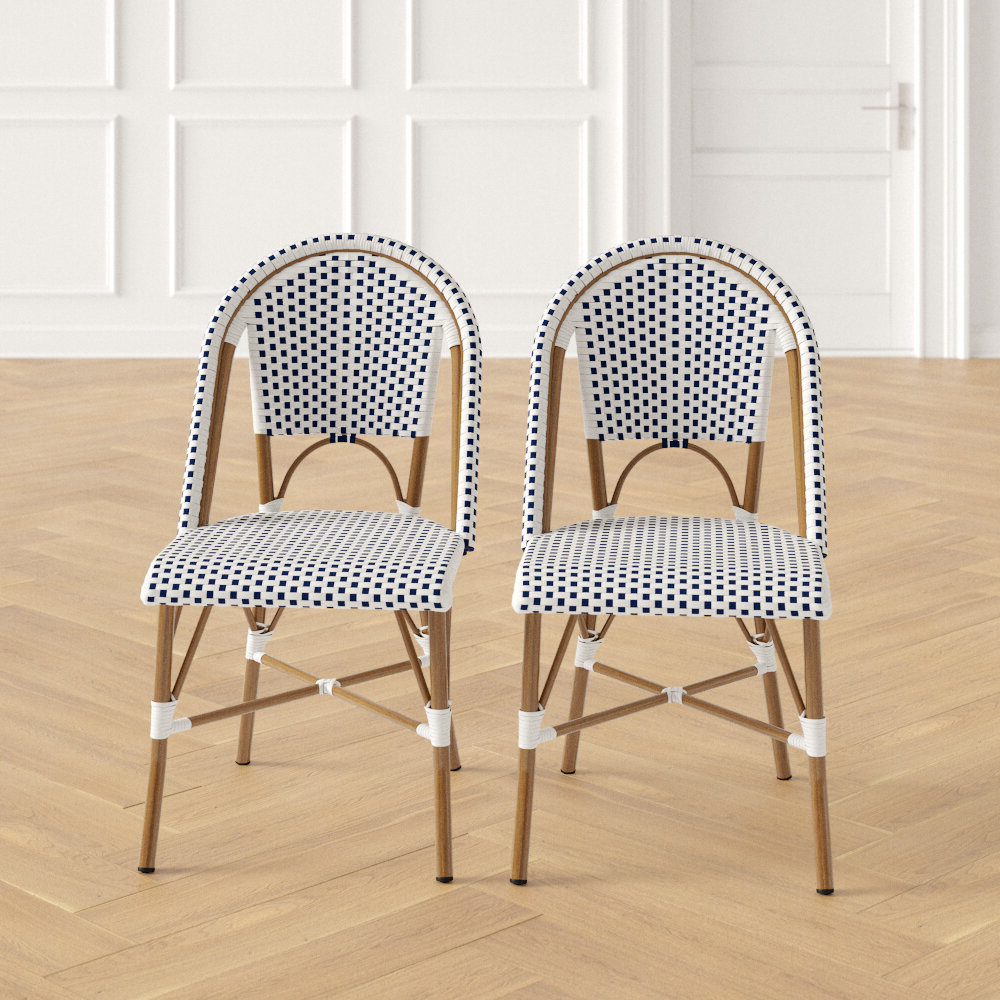 Well Known Danny Barrel Chairs (set Of 2) Inside Cassels Stacking Patio Dining Chair (View 19 of 20)