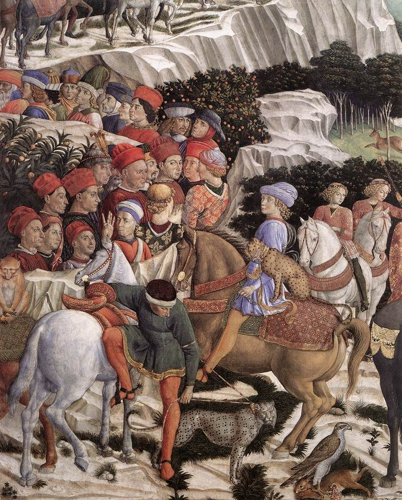 Well Known Gozzoli Slipper Chairs In ❤ – Benozzo Gozzoli (1421 – 1497) – Procession Of The Magus (View 17 of 20)