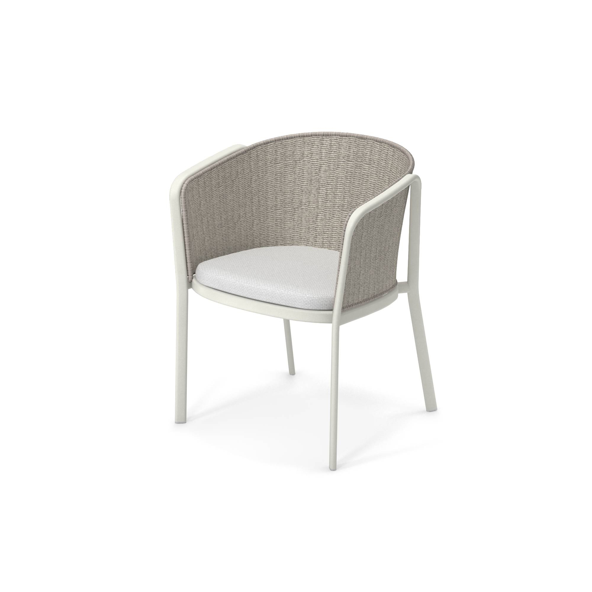 Well Known Leia Polyester Armchairs Pertaining To Garden Armchair / Outside In Aluminium, Polyester, Synthetic (View 10 of 20)