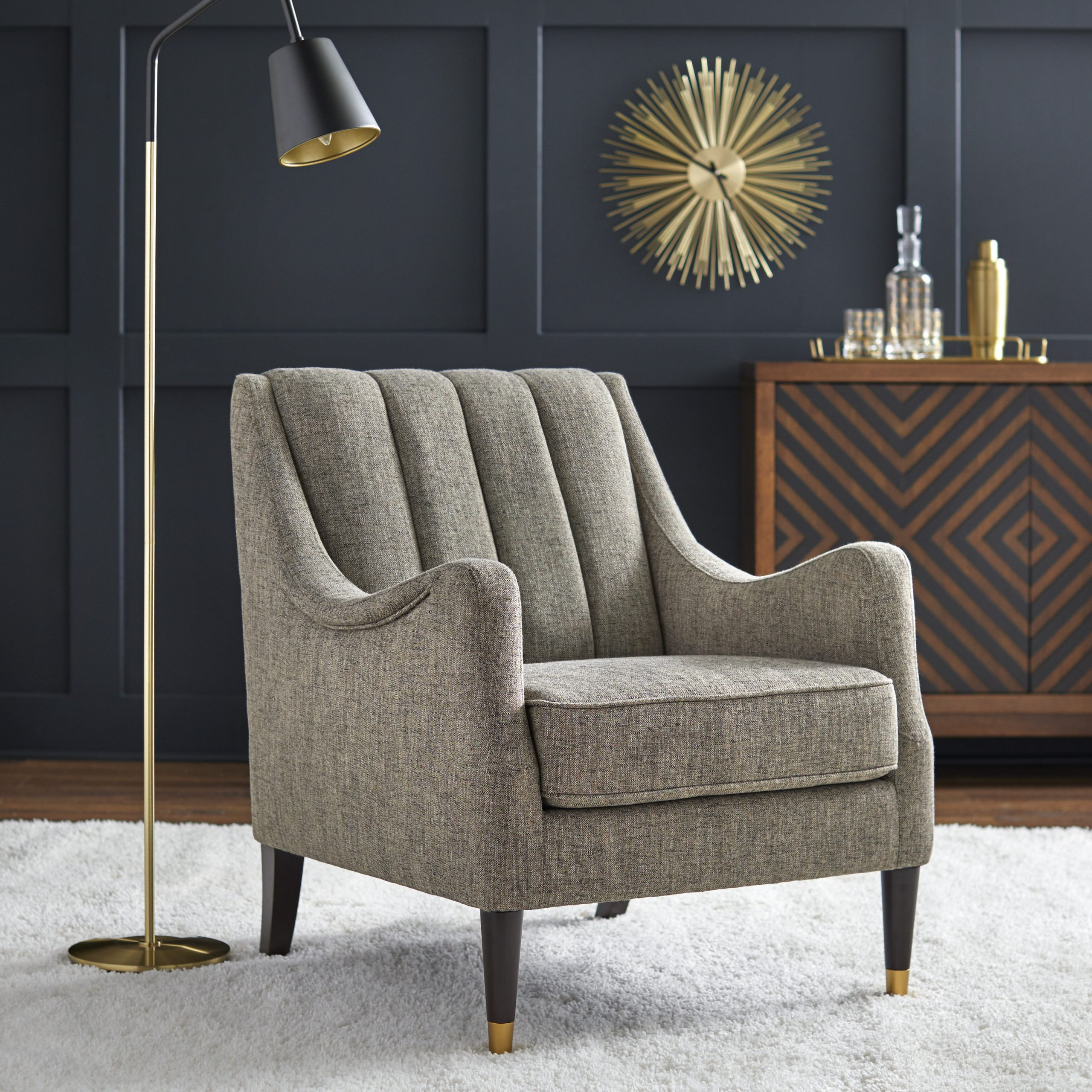 Well Known Martika Armchair Inside Oglesby Armchairs (View 20 of 20)