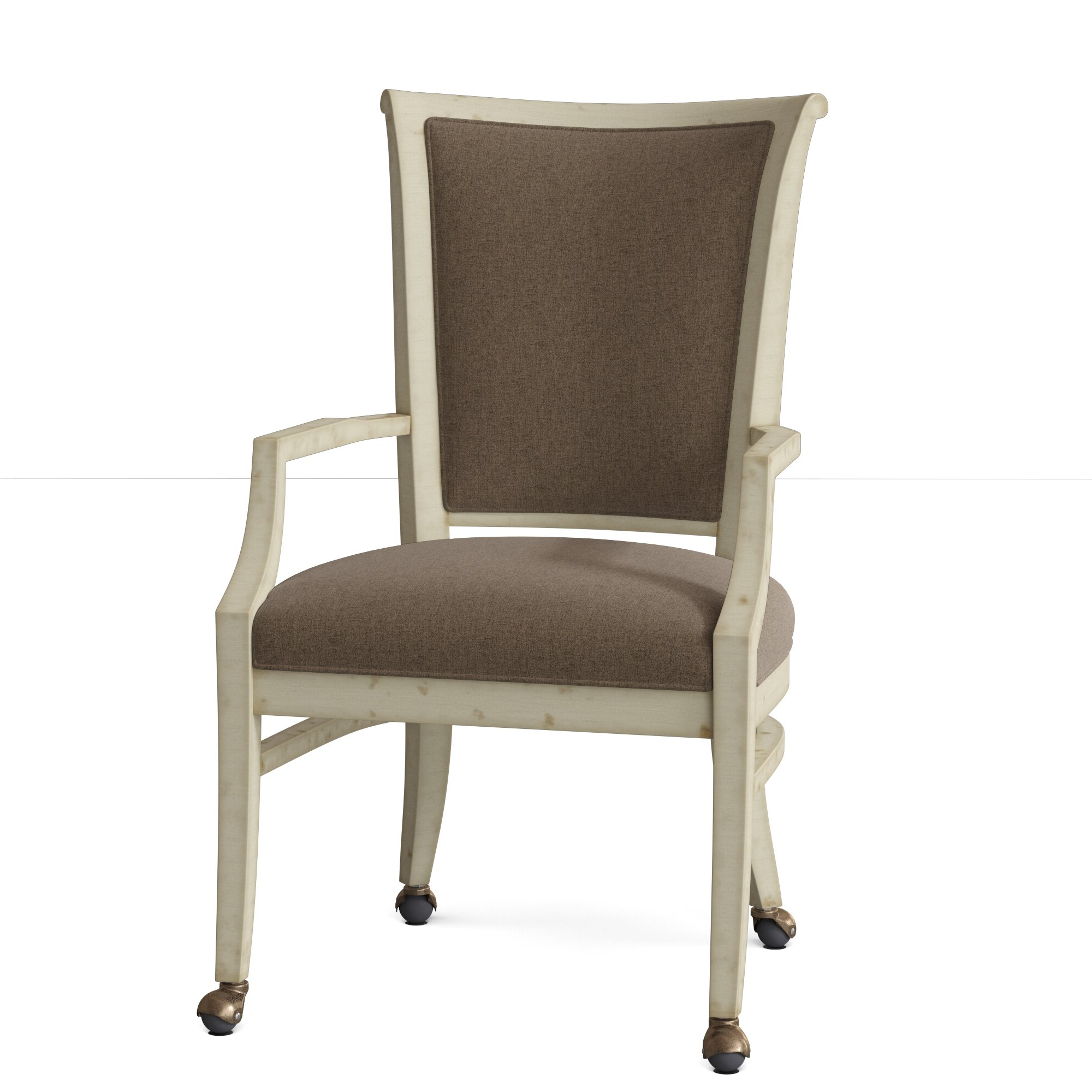 Well Known Selby Armchairs Inside Bayfield Upholstered King Louis Back Arm Chair (View 20 of 20)