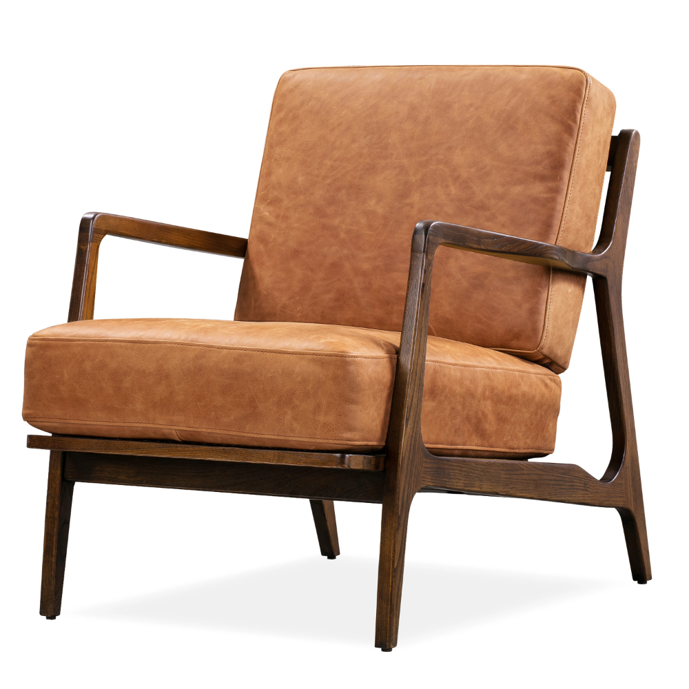 Well Known Verity Leather Lounge Chair (View 18 of 20)