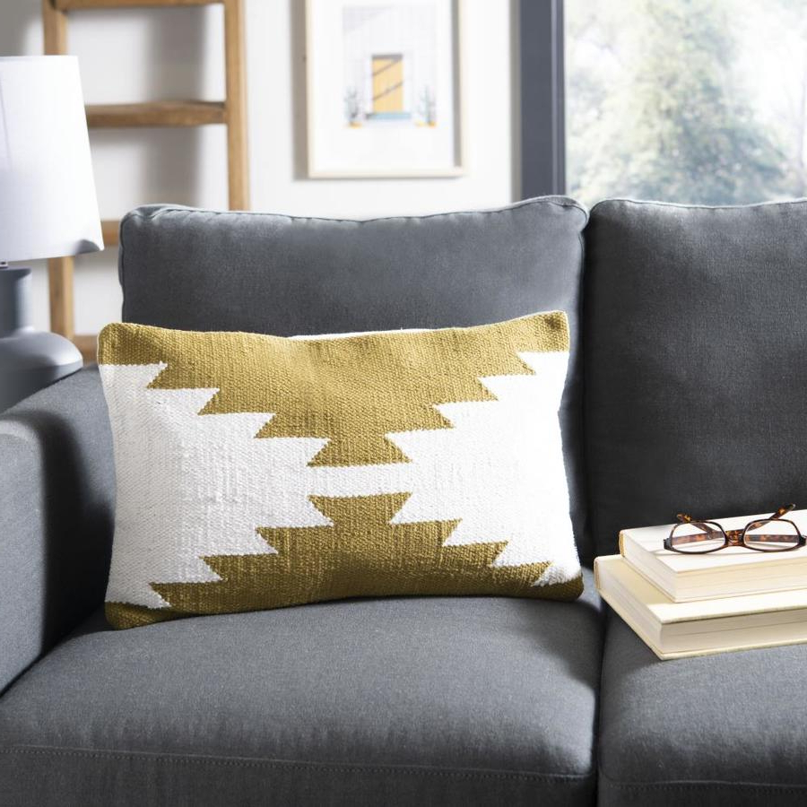 Well Liked Haleigh Armchairs Within Safavieh Haleigh 12 In W X 20 In L Indoor Decorative Pillow (View 13 of 20)
