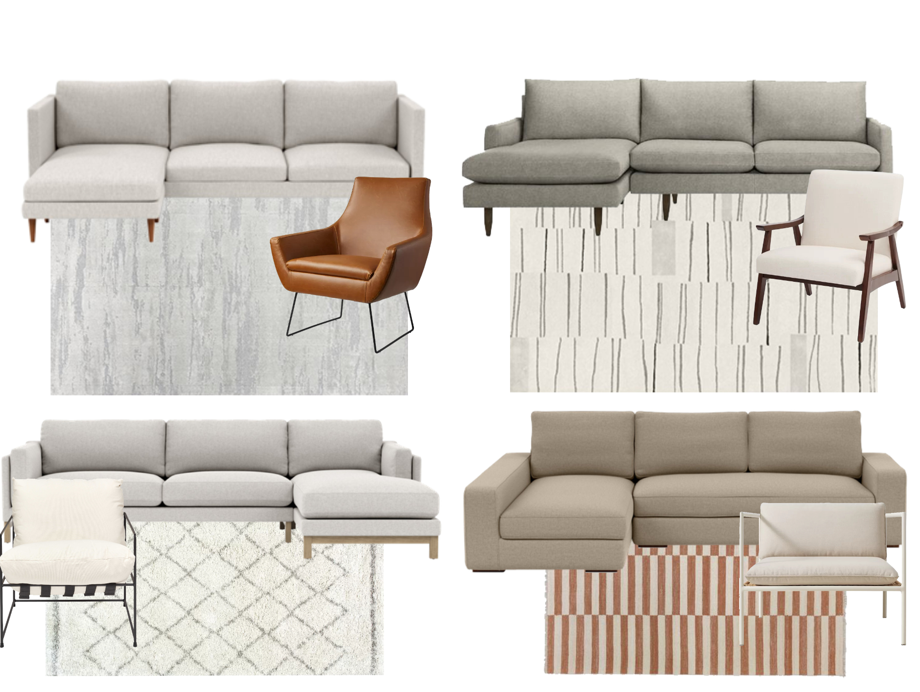 What Seating Should I Choose For My Modern Living Space Regarding Well Liked Roswell Polyester Blend Lounge Chairs (View 19 of 20)