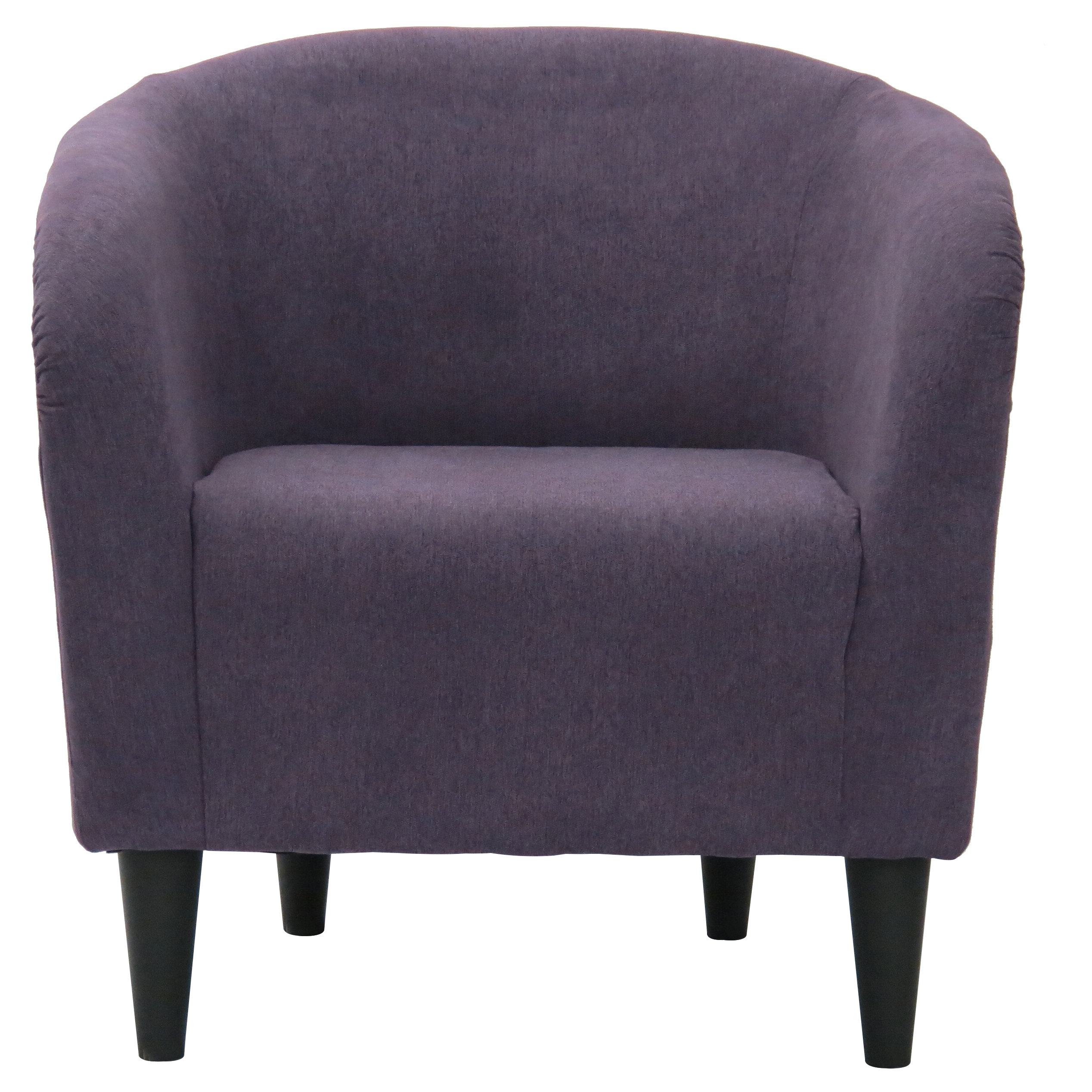 Widely Used Barnard Polyester Barrel Chairs Within Willa Arlo Interiors Hana Barrel Chair (View 16 of 20)