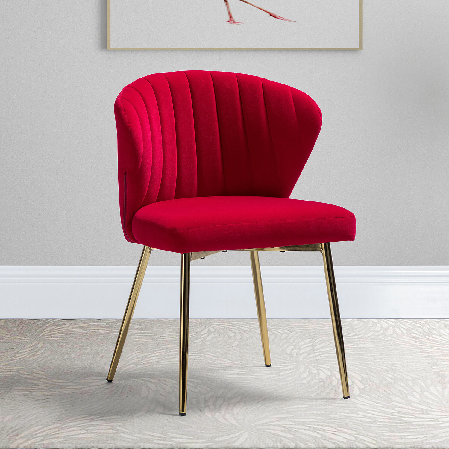 Widely Used Beige & Red Accent Chairs You'll Love In (View 7 of 20)
